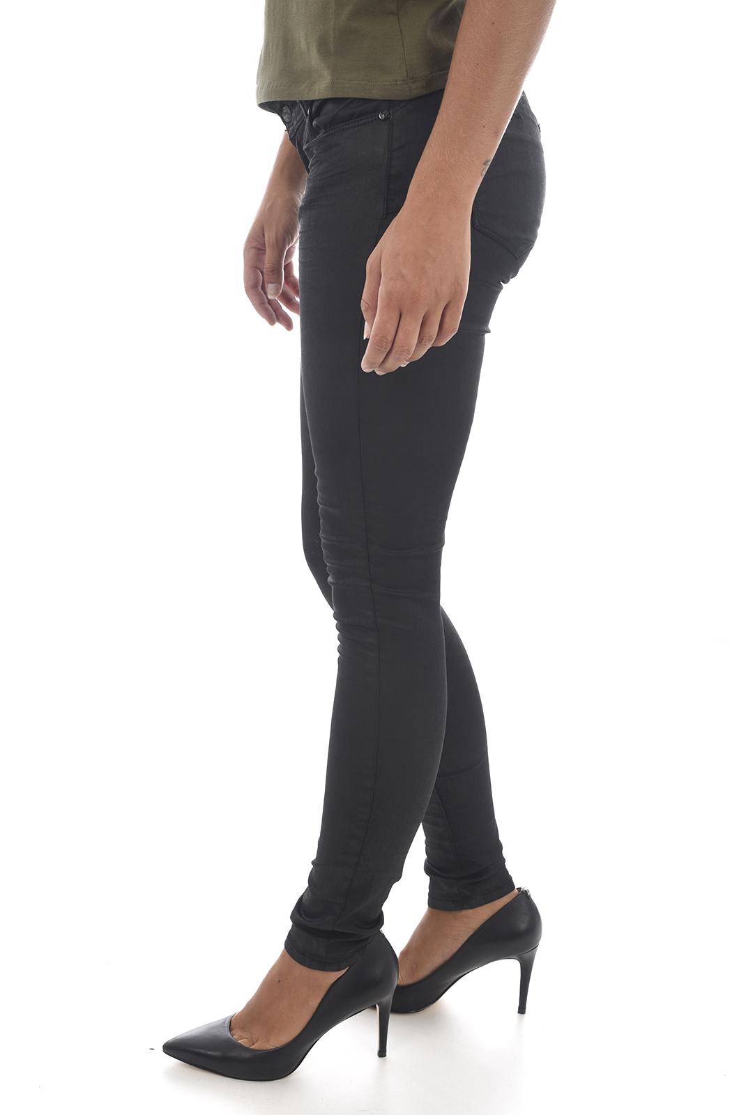 Jeans   Kaporal LOKA H18W7 NOIR KHOL
