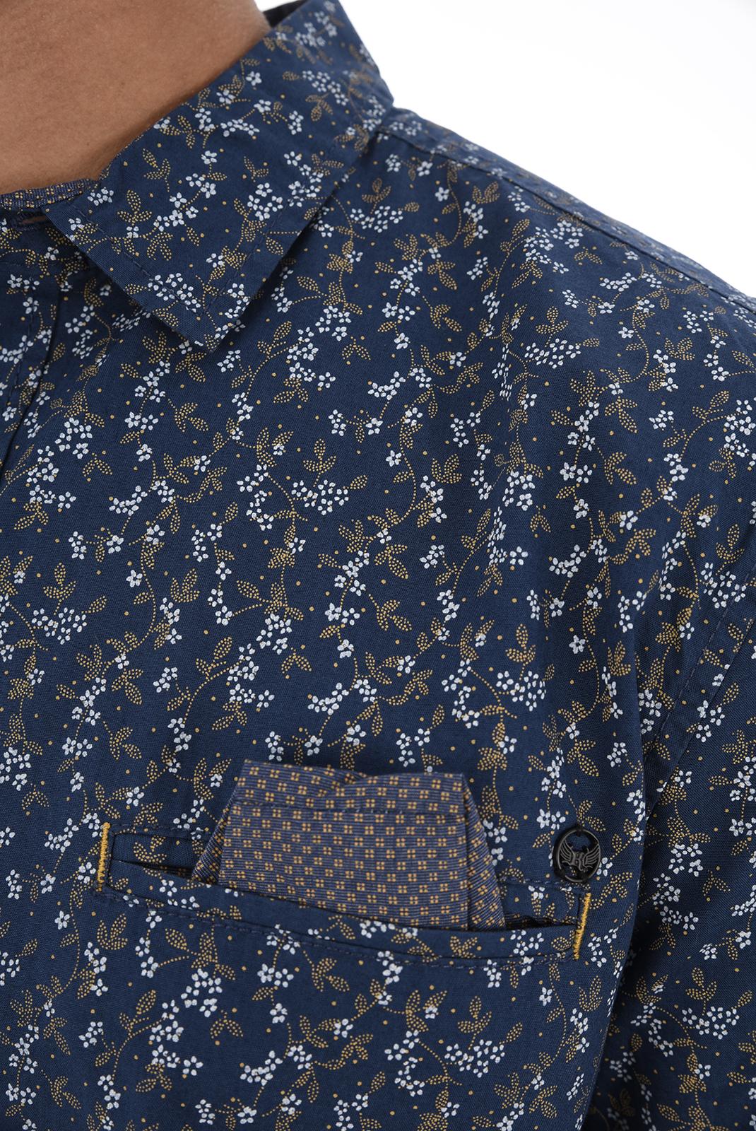 Chemises manches longues  Kaporal LIPS H18M42 BLUE US