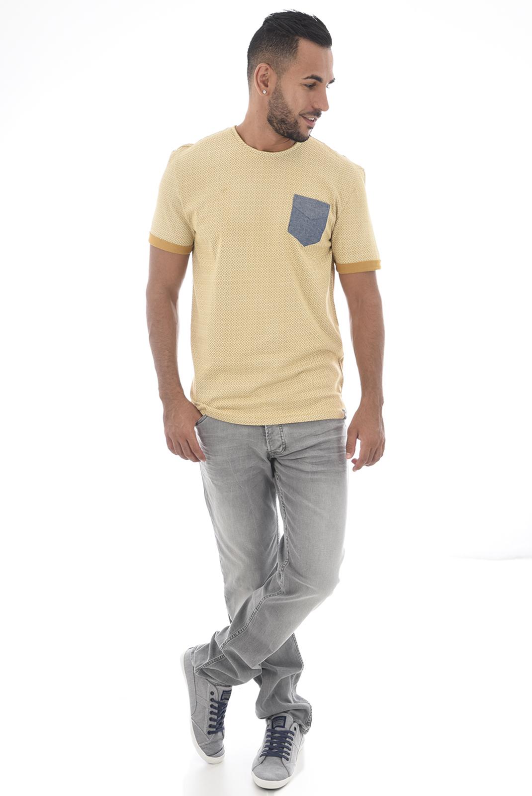 Tee-shirts  Kaporal SOWER H18M11 AMBRE