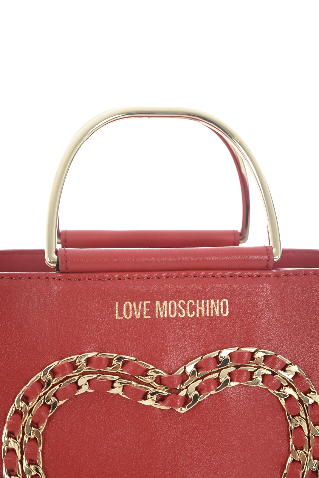 Sacs à Main  Love moschino JC4322PP05 BORSA VITELLO BOTTALATO ROSSO