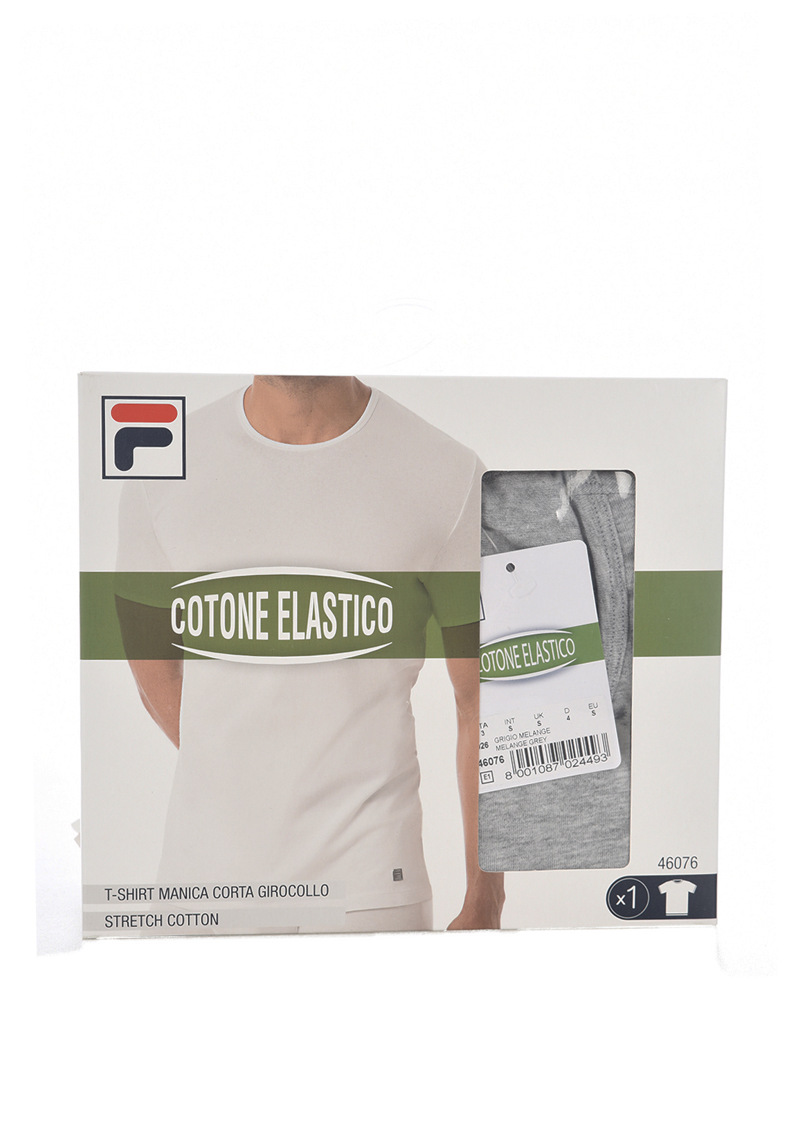 Tee-shirts  Fila F05XW 026-GRIGIO MELANGE