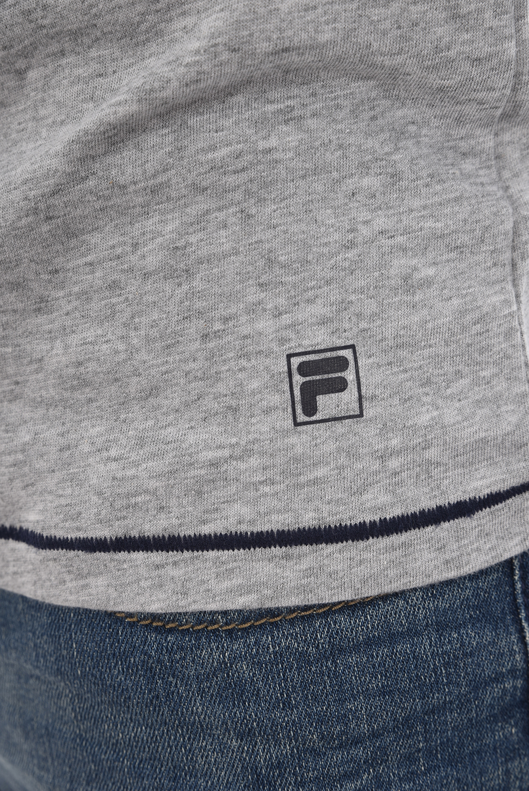 Tee-shirts  Fila F06I7 026-GRIGIO MELANGE