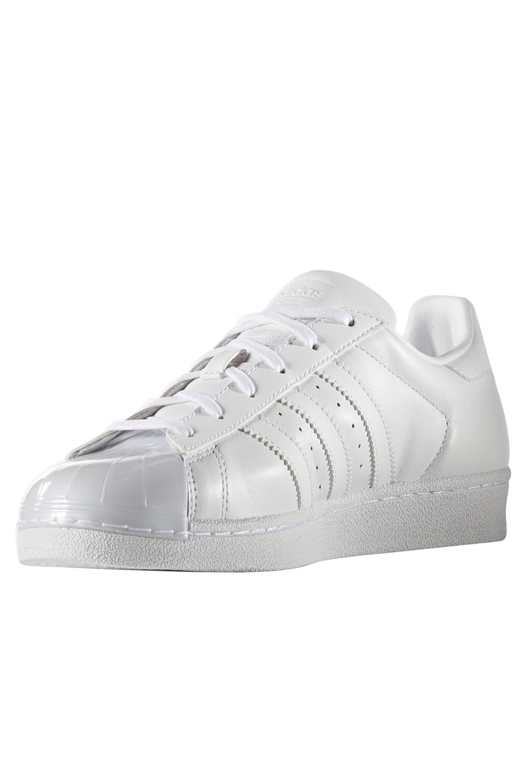 Baskets / Sneakers  Adidas BB0683 SUPERSTAR GLOSSY TOE W BLANC