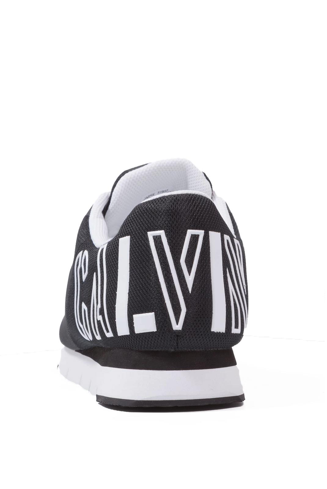 Baskets / Sport  Calvin klein JABRE MESH BLACK/WHITE