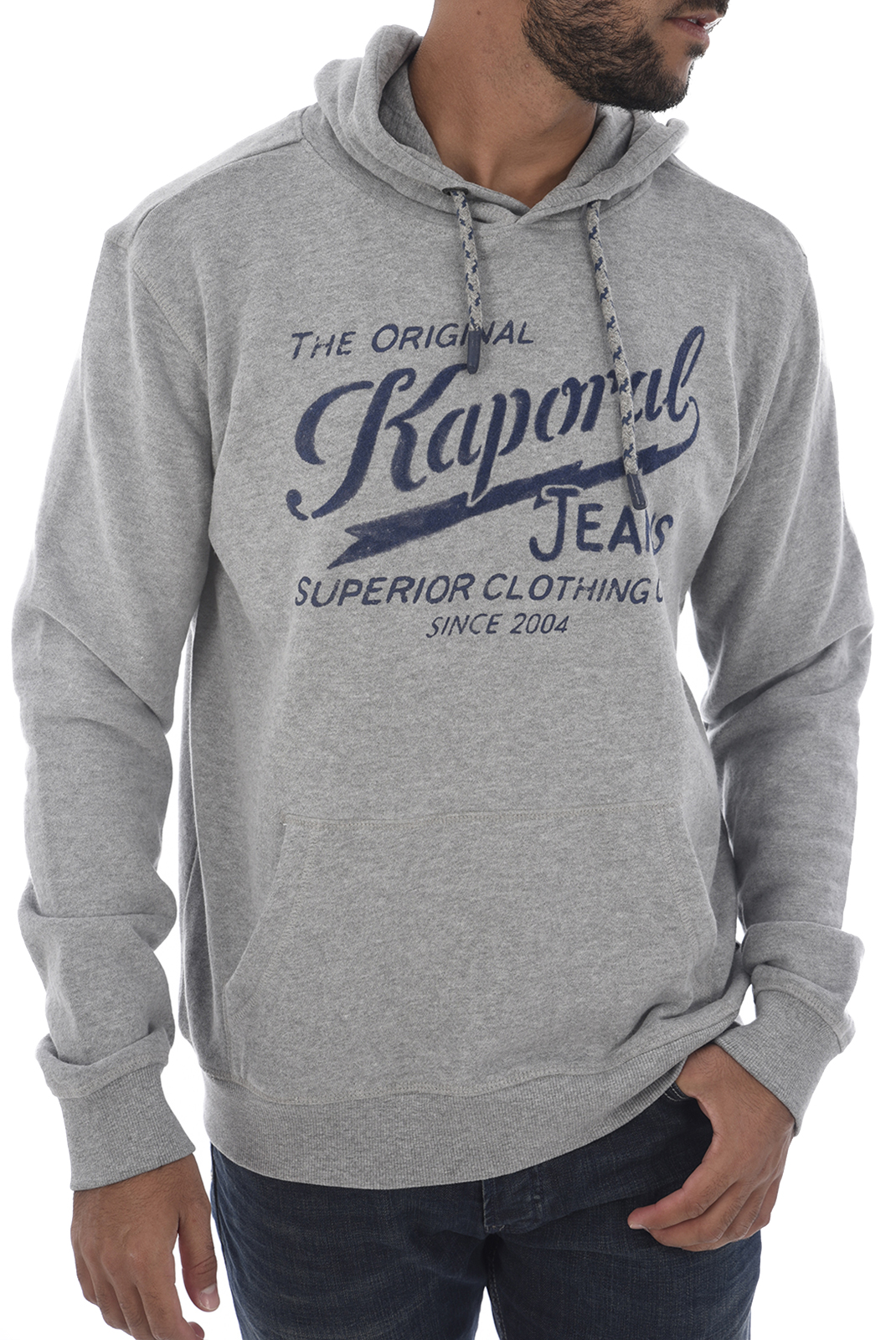 Sweatshirts  Kaporal BOKY H18M32 MEDIUM GREY MELANGED