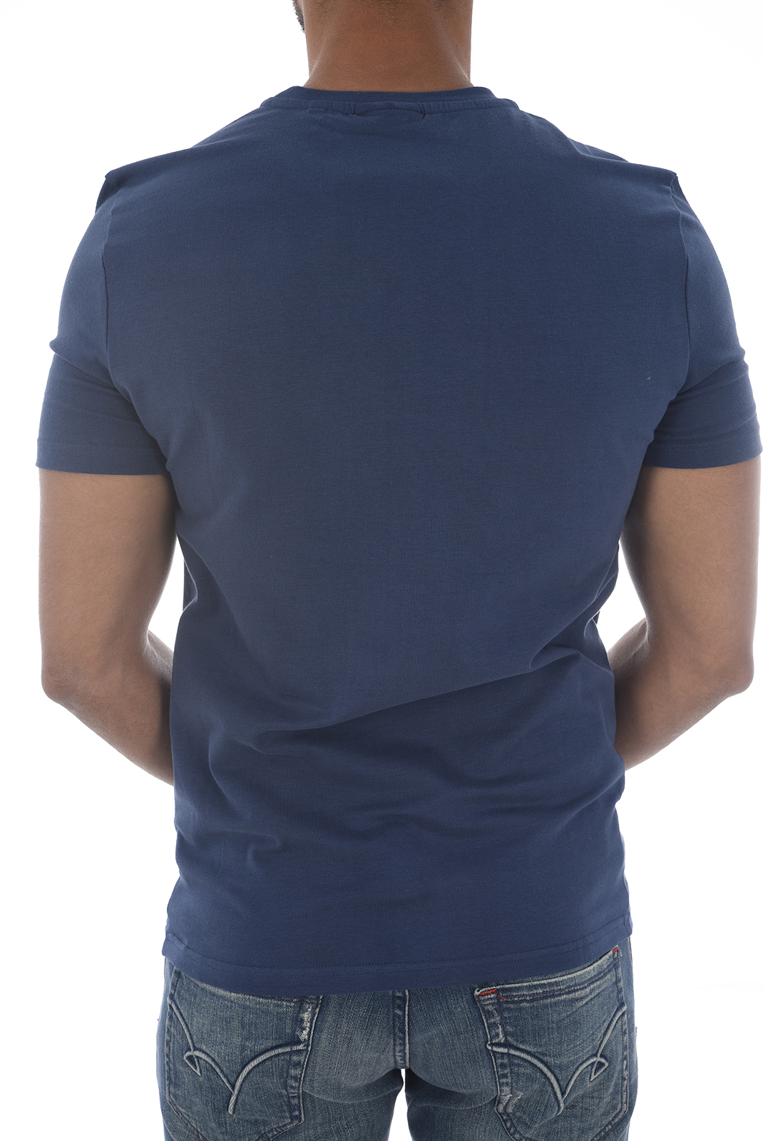 Tee-shirts  Kaporal SALUT H18M11 BLUE US