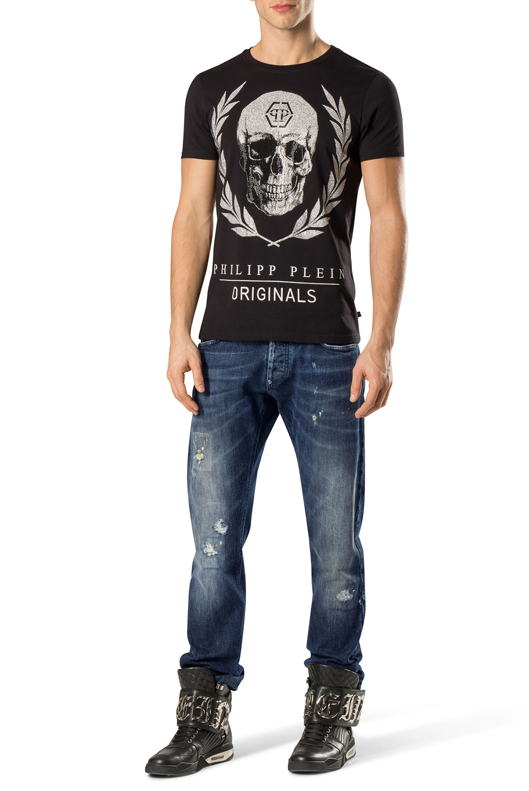 slim / skinny  Philipp plein MDT0129 SOUND 65WA HIP HOP STAR