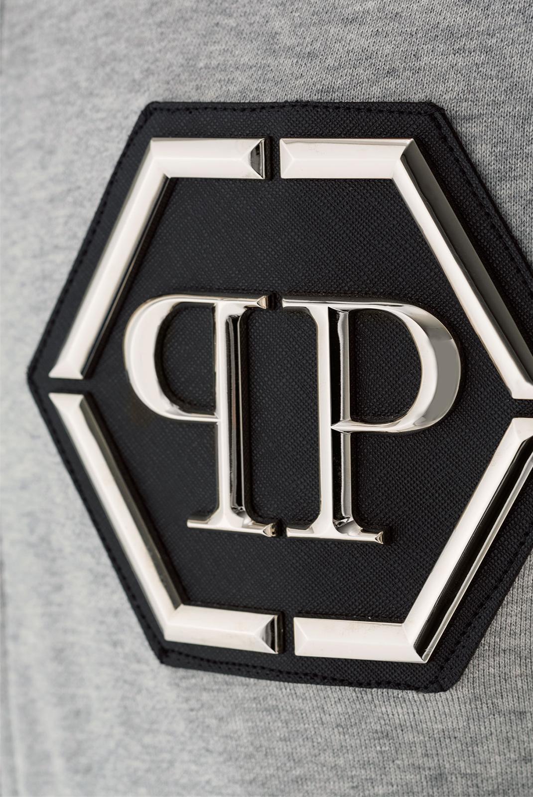 Vestes zippées  Philipp plein MJB0041 AIR 1046 GREY MELANGED