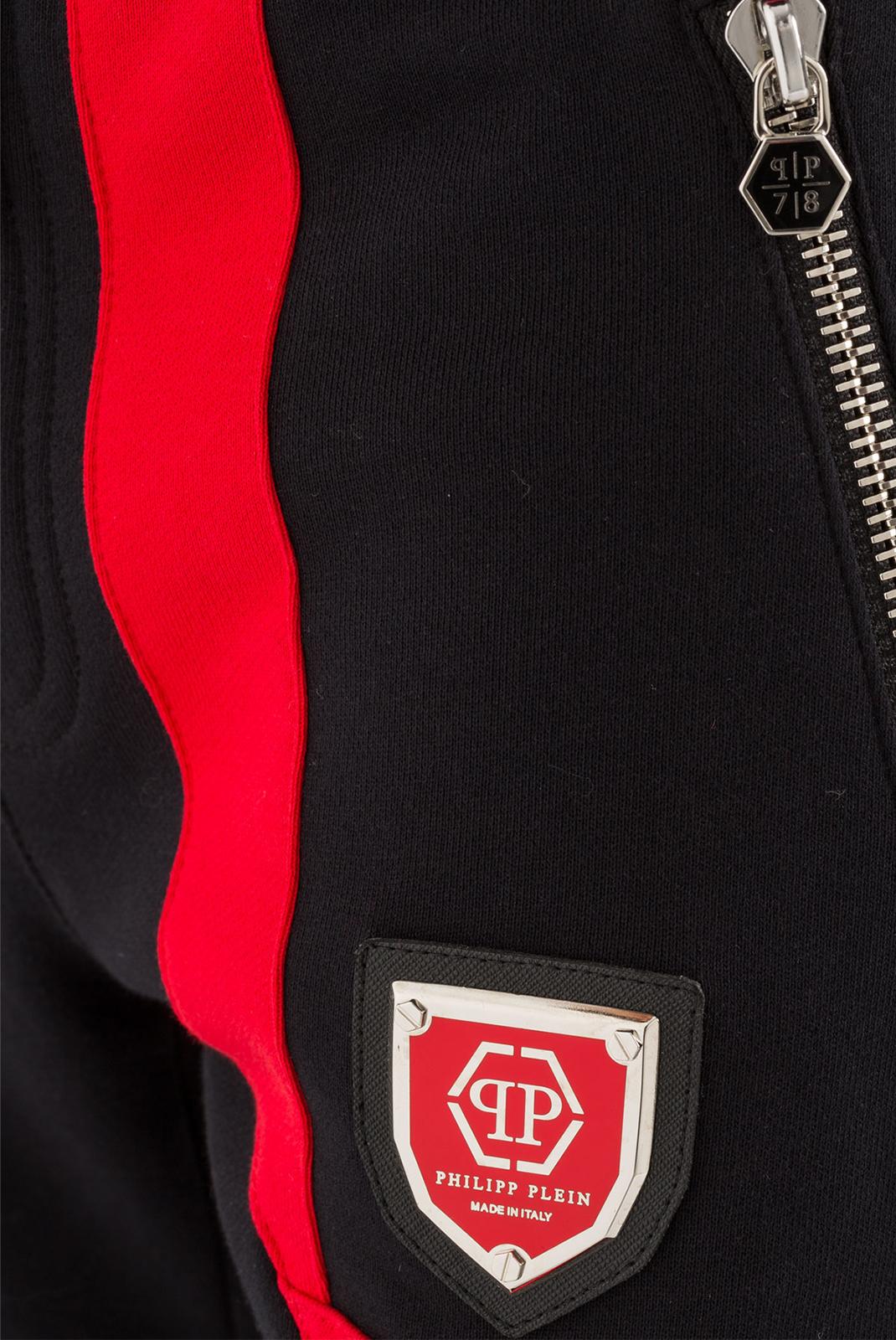 Pantalons  Philipp plein MJT0049 SO TWO 02R4 BLACK/RED