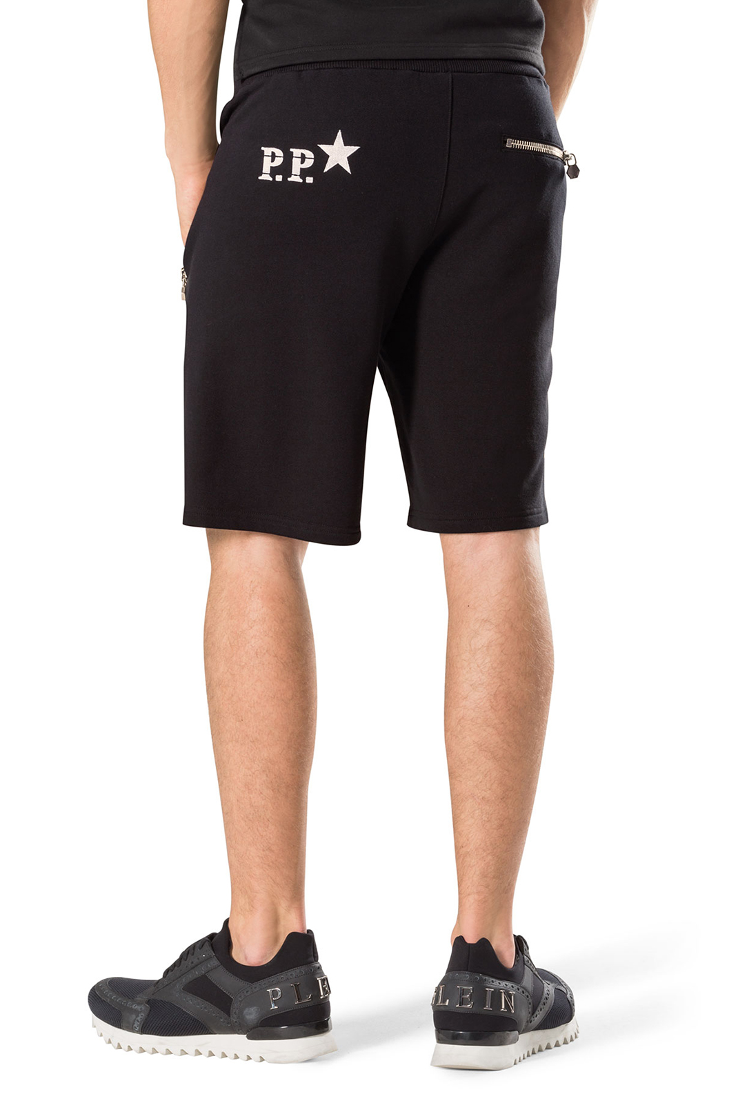 Shorts & Bermudas  Philipp plein MJT0039 NO LIGHT 02 BLACK