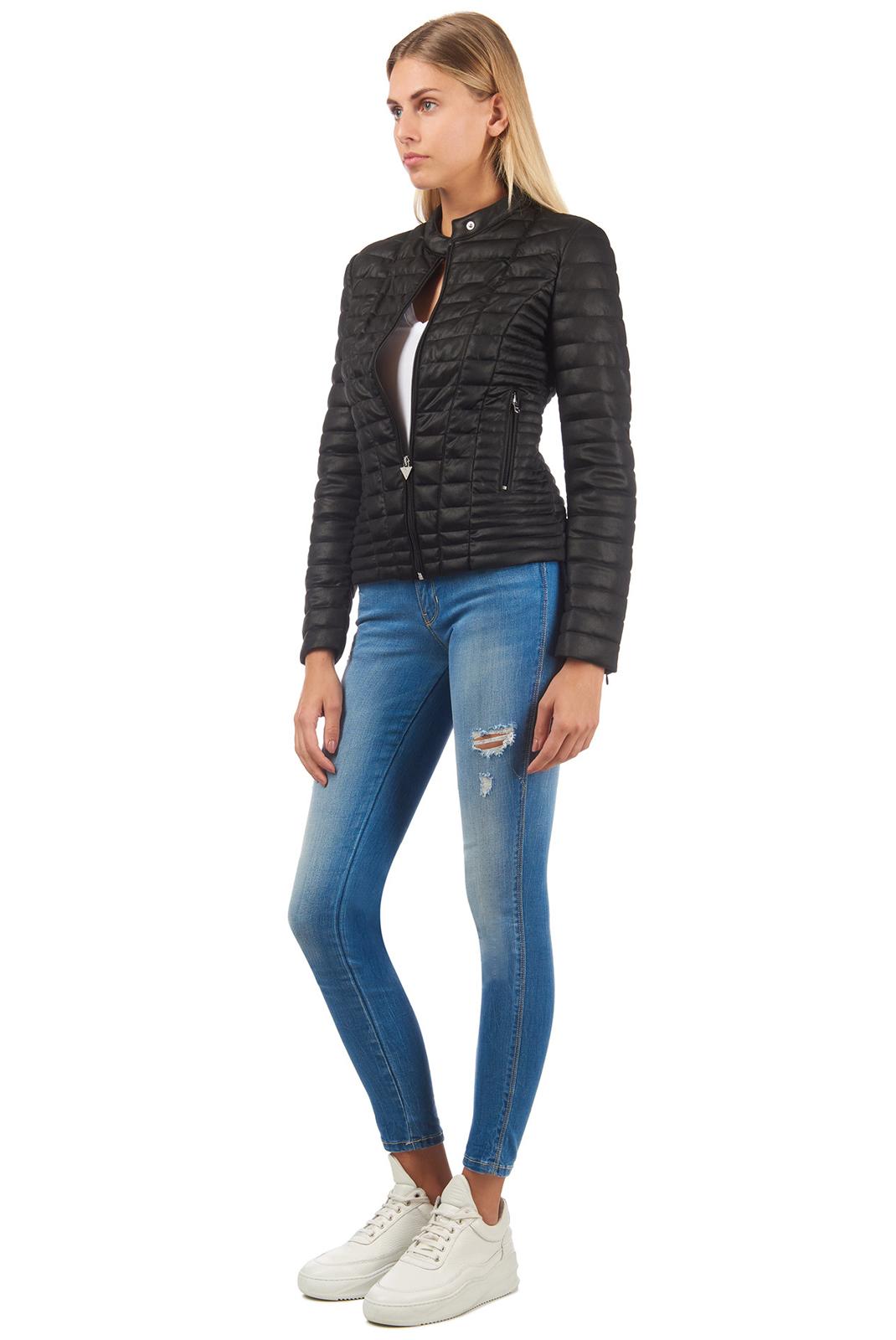 Vestes & blousons  Guess jeans W83L15 K7EU0 JBLK