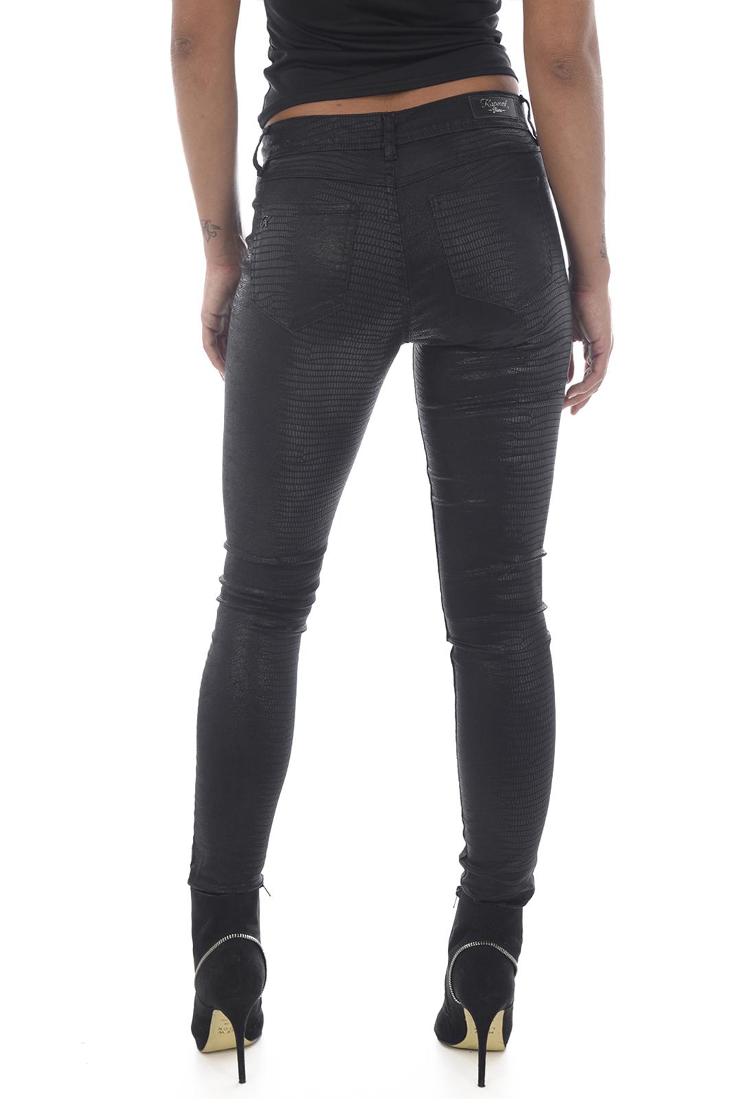 Jeans   Kaporal POWER H18W7 PYTHON NOIR