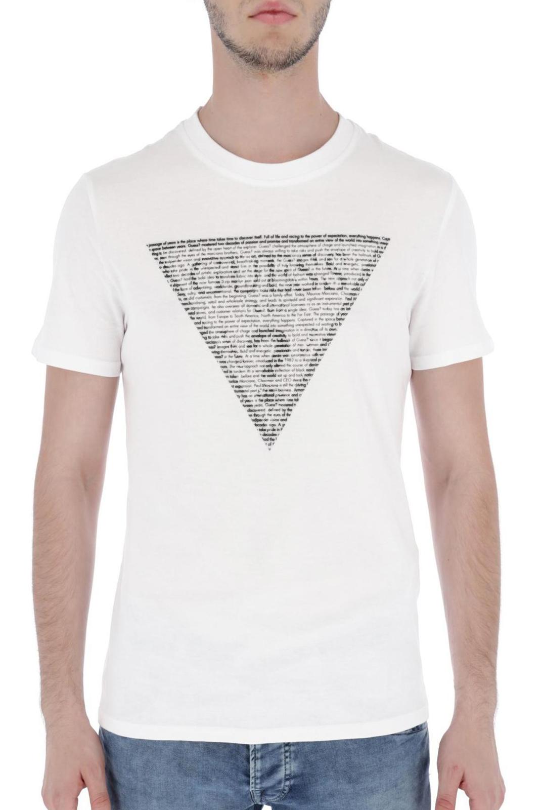 T-S manches courtes  Guess jeans M83I03 I3Z00 TWHT