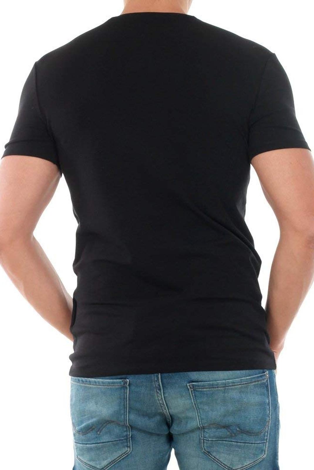 T-S manches courtes  Guess jeans M83I31 J1300 JBLK