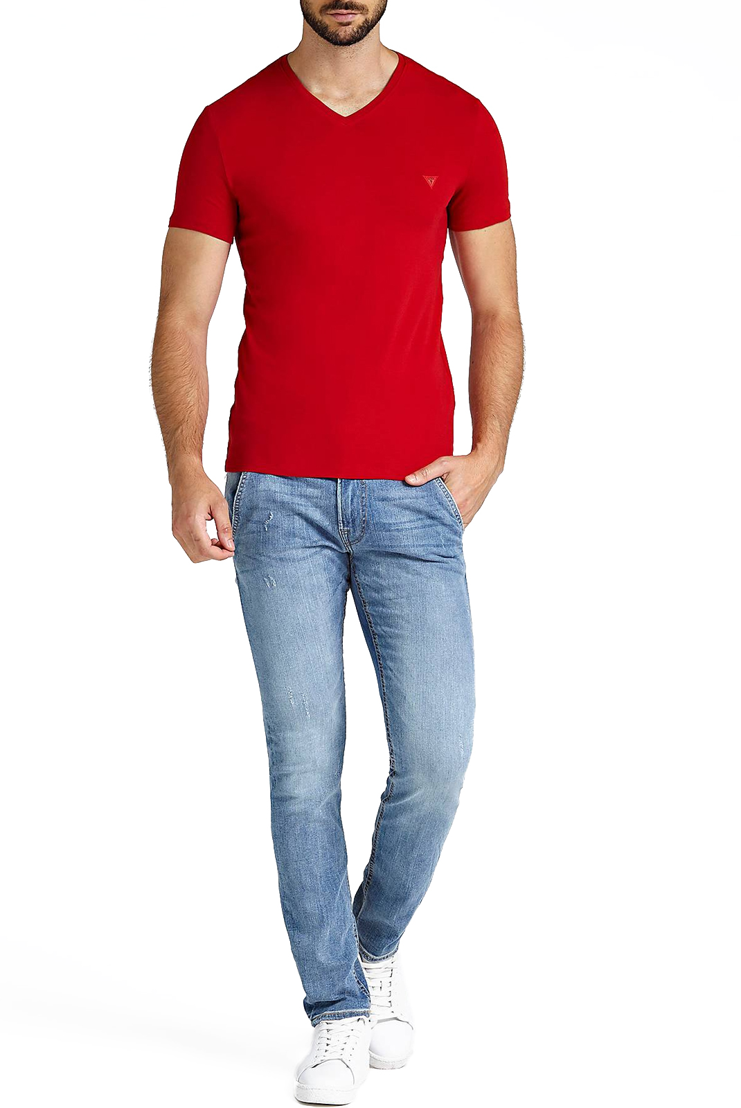 T-S manches courtes  Guess jeans M83I31 J1300 TLRD
