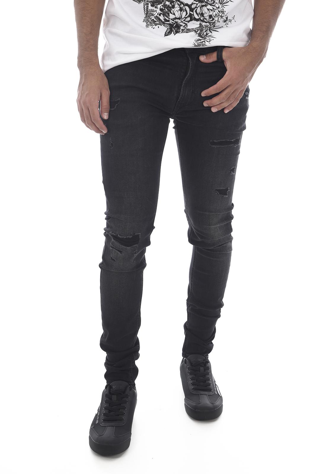 Jeans  Kaporal PIXEL H18 BLACK DESTROY