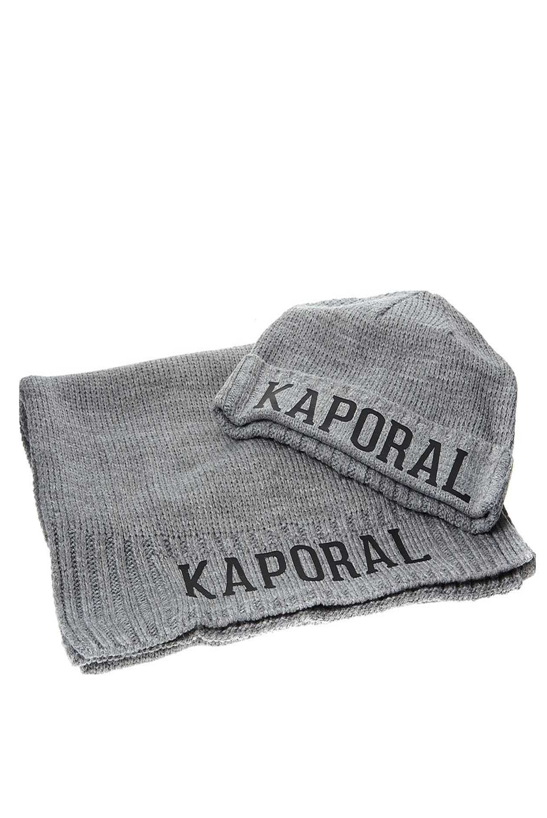 Bonnets / Casquettes  Kaporal BACK H18M08 MEDIUM GREY CHINE