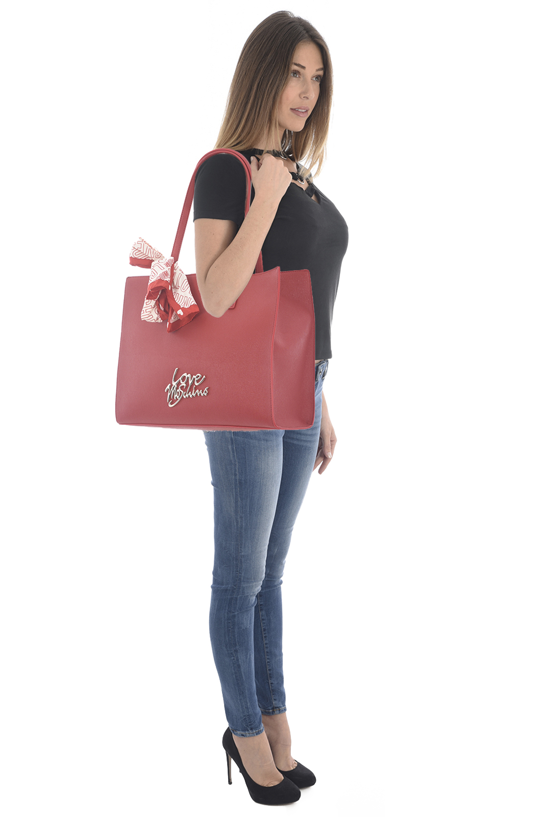 Cabas / Sacs shopping  Love moschino JC4050PP15LE ROSSO