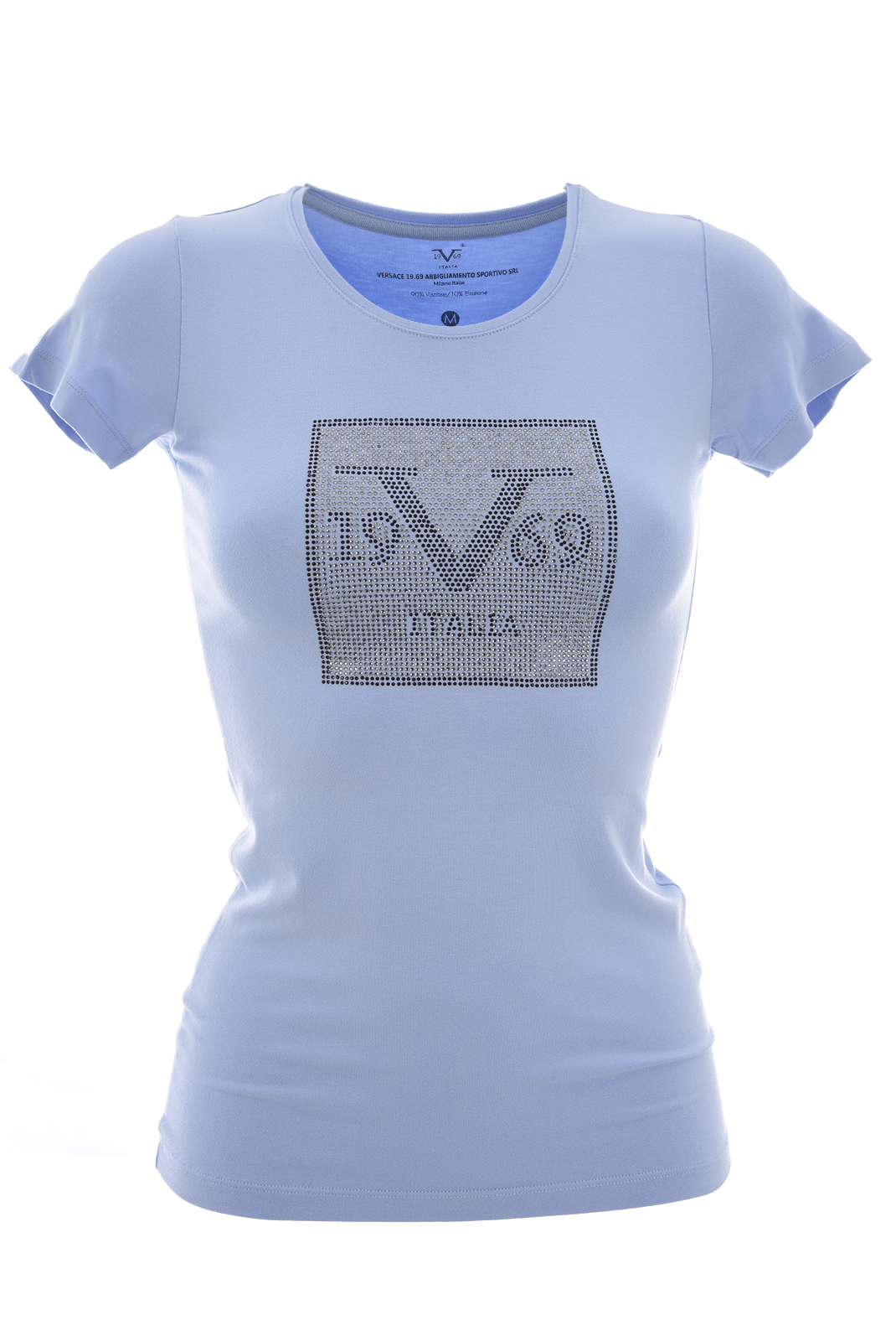Tee shirt  19V69 by Versace 1969 CUBO SERENITY BLUE