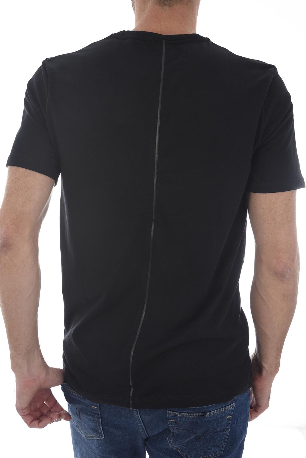 Tee-shirts  Kaporal SKULL H18M11 BLACK
