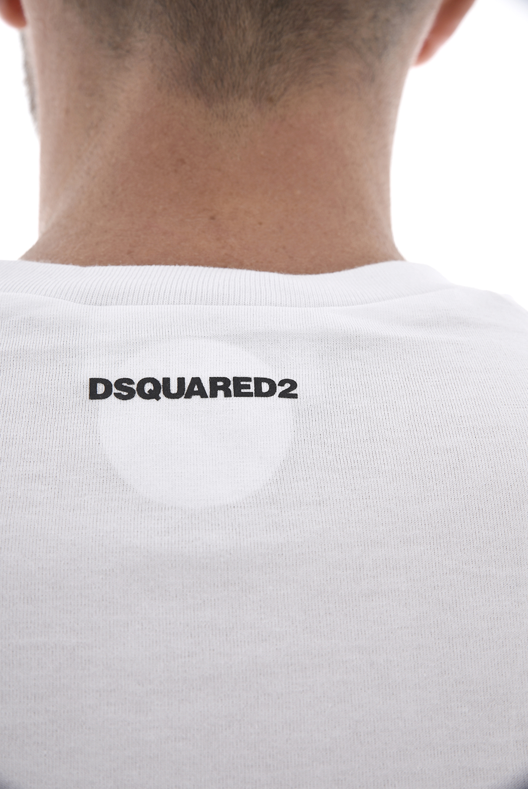 Tee-shirts  Dsquared2 S71GD0619 100 BLANC