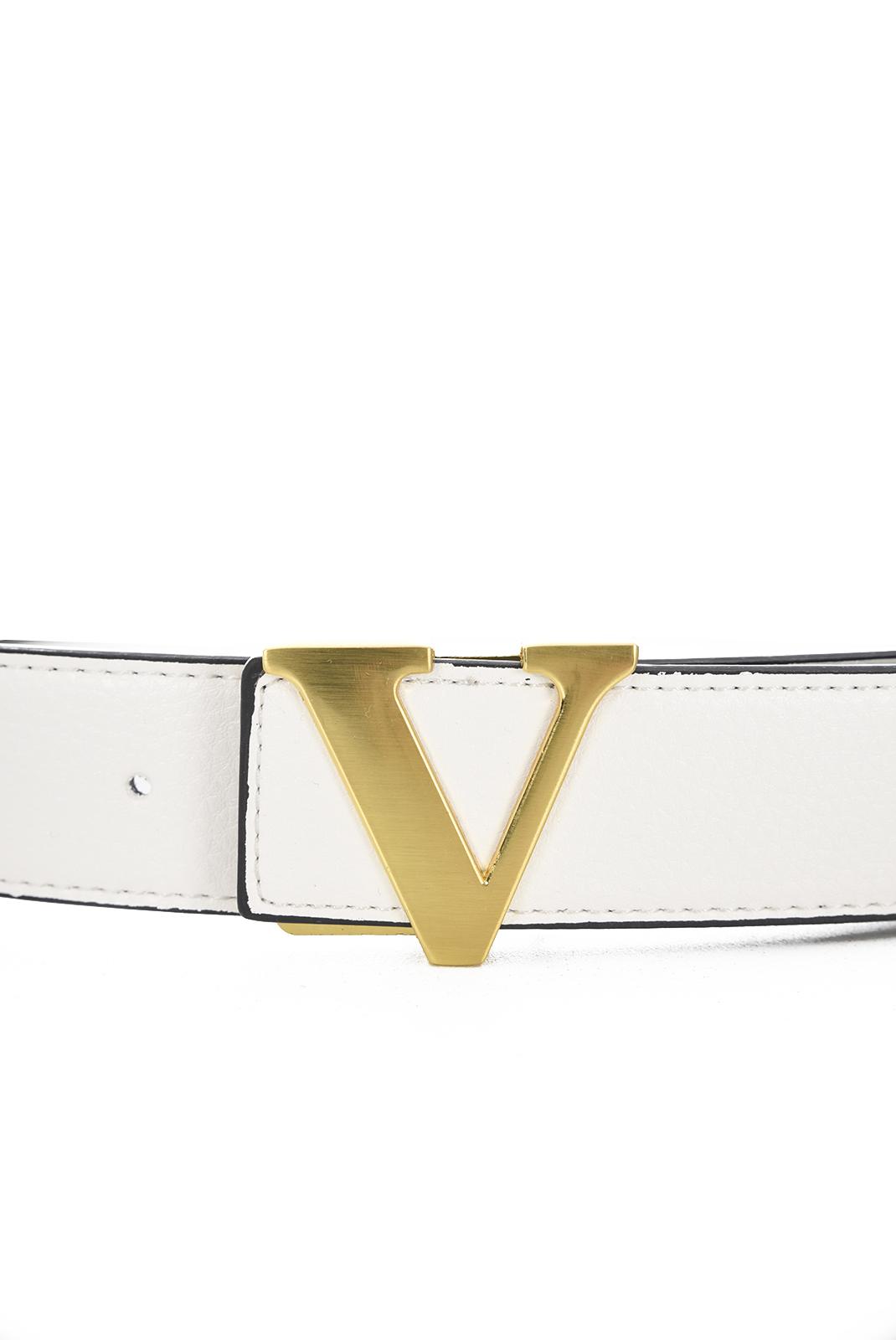 Ceintures  V1969 by Versace 1969 BIELLA GOLD BLANC