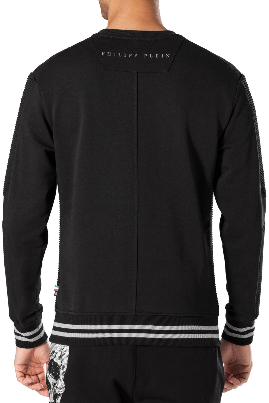 Sweatshirts  Philipp plein MJO0144 HOSHI 0202 BLACK/BLACK