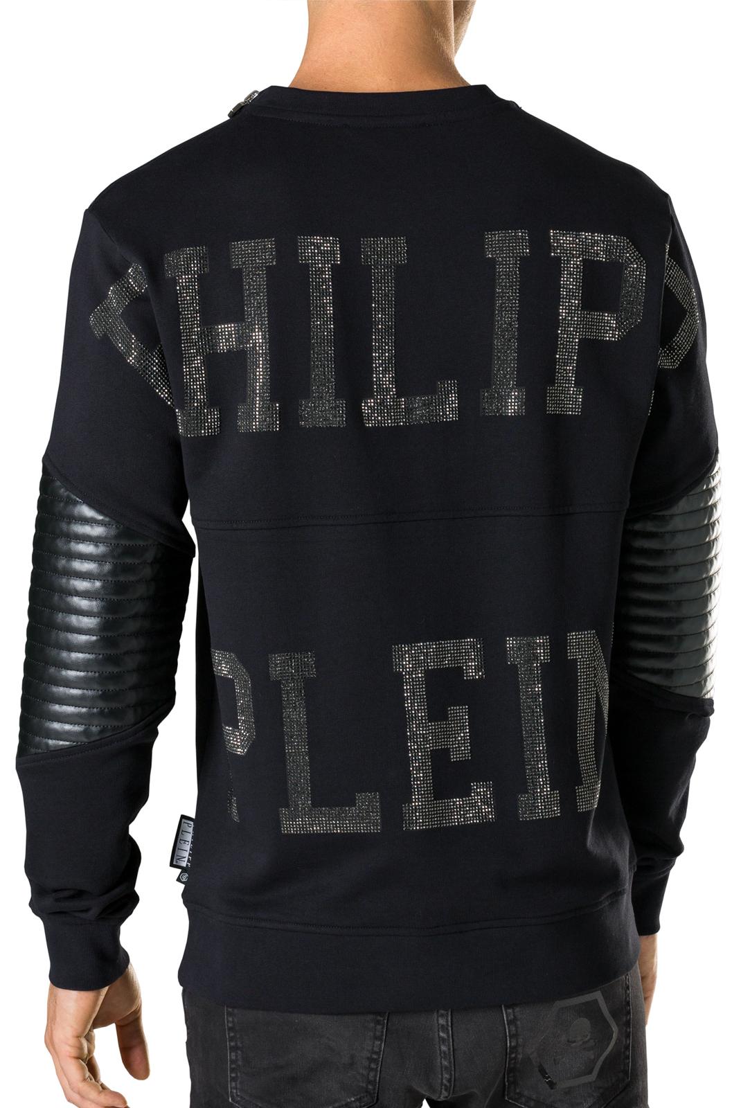 Sweatshirts  Philipp plein A17C MJO0187 PRE 0202 BLACK/BLACK