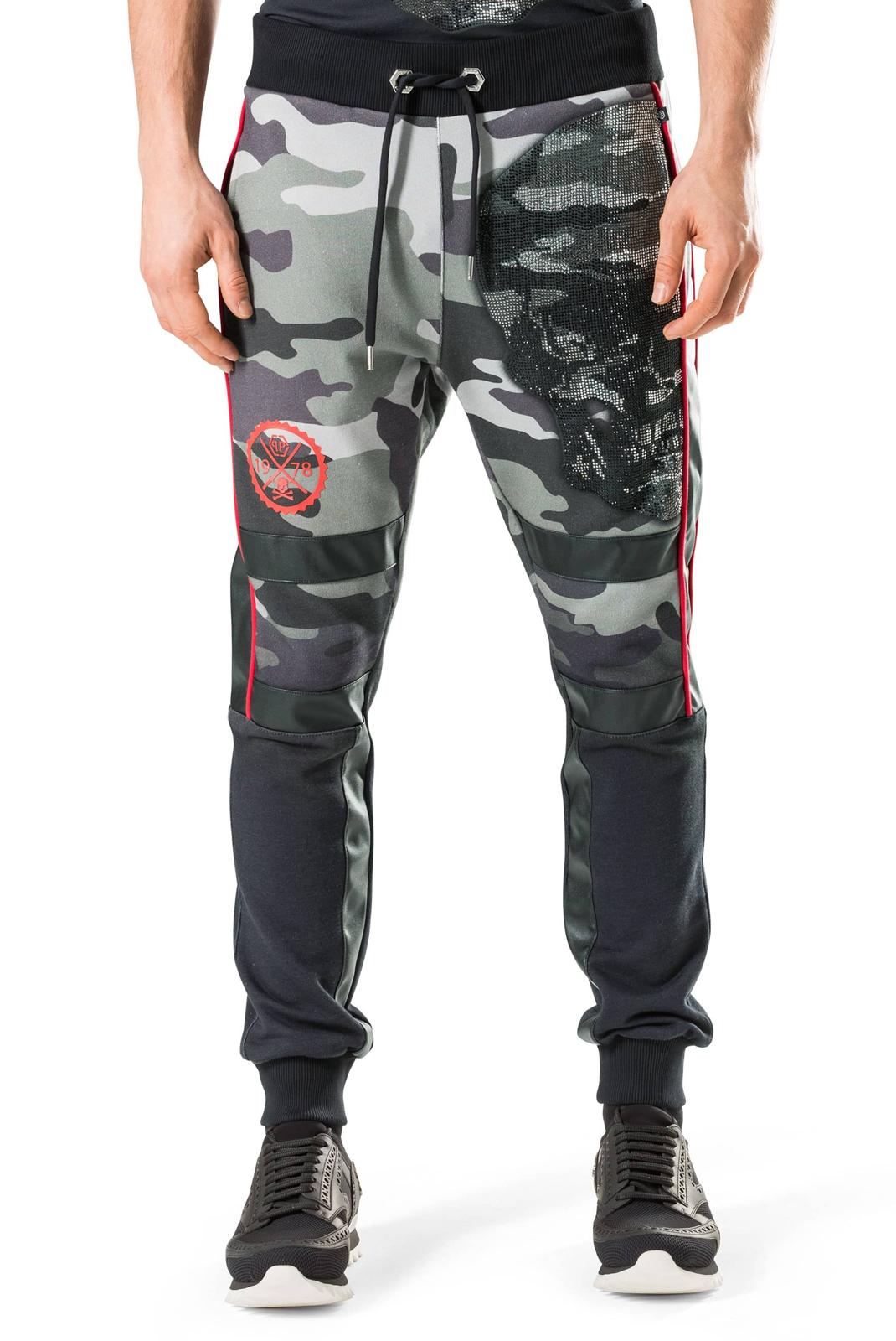 Homme  Philipp plein F17C MJT0171 RAITARO CM99 CAMOU BLACK