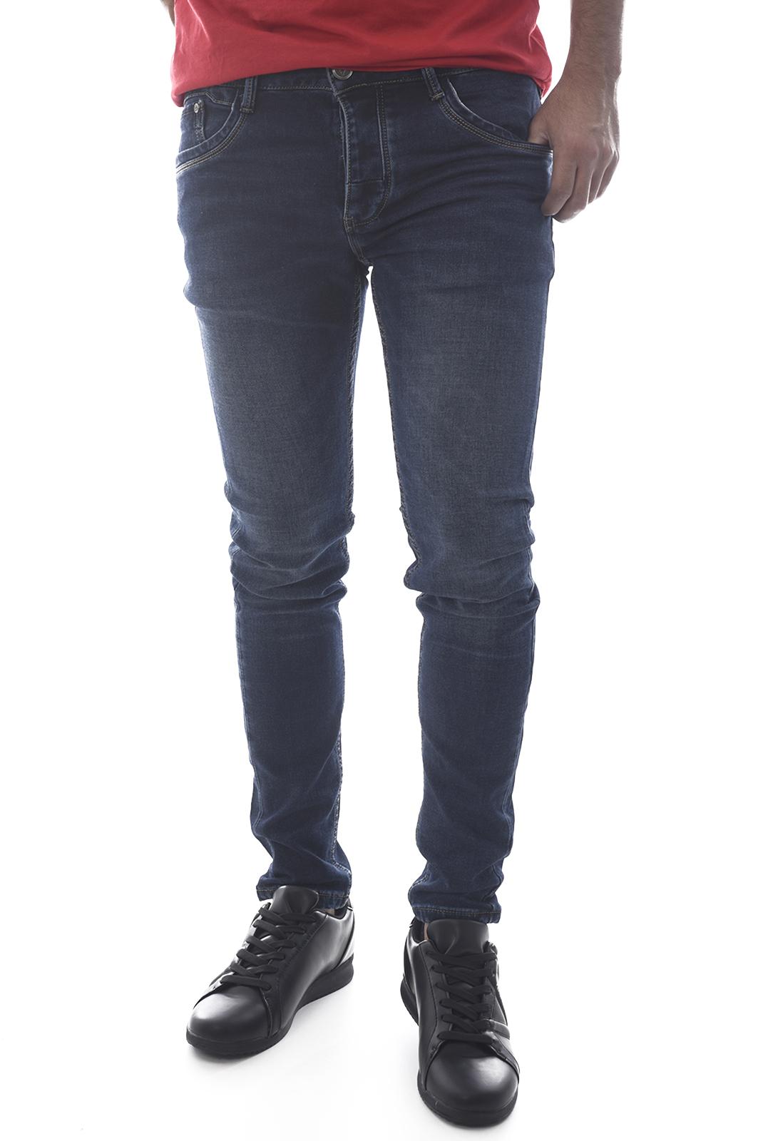Jeans  Leo gutti W003 BLEU