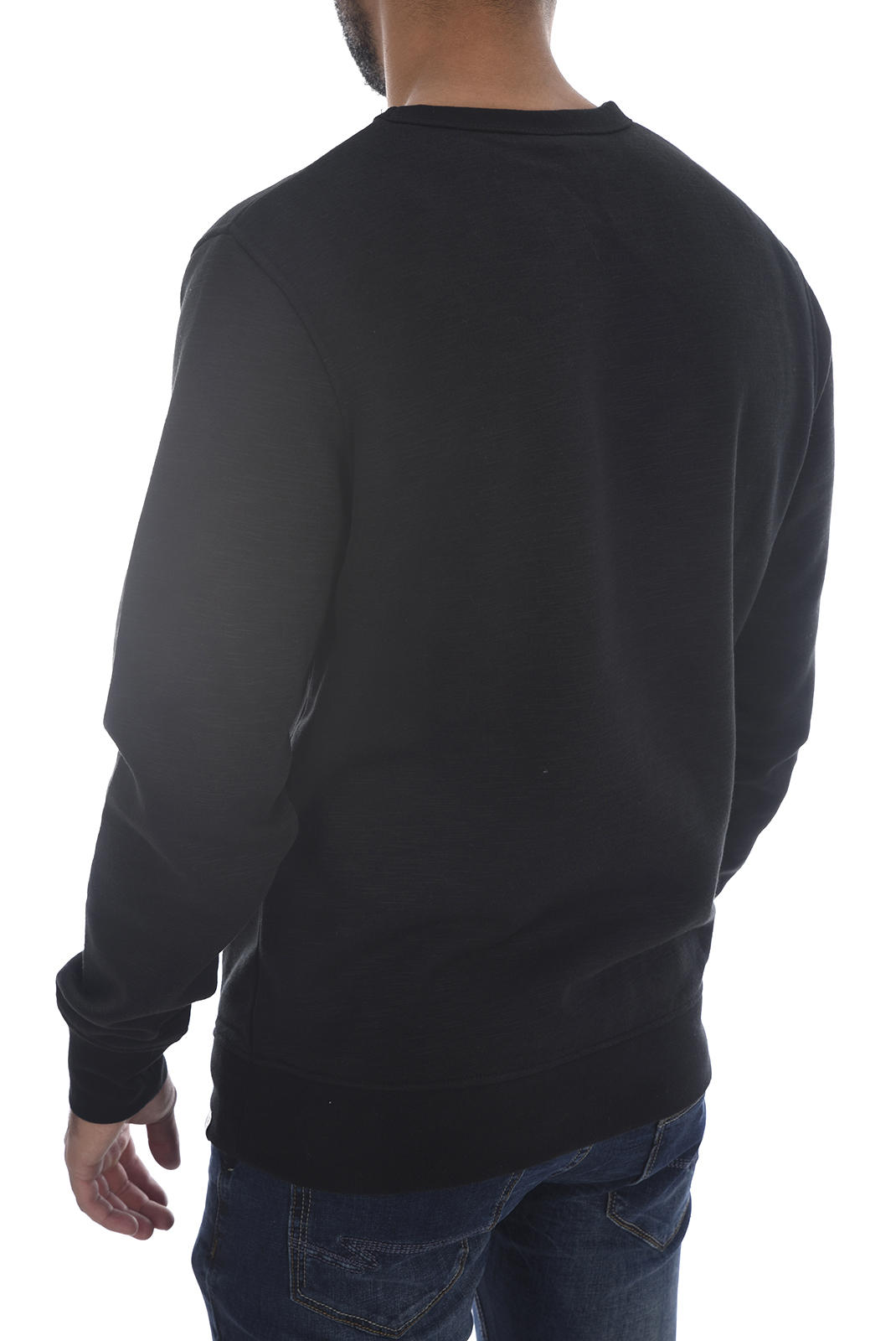 Sweatshirts  Jack & Jones STANN SWEAT CREW Black