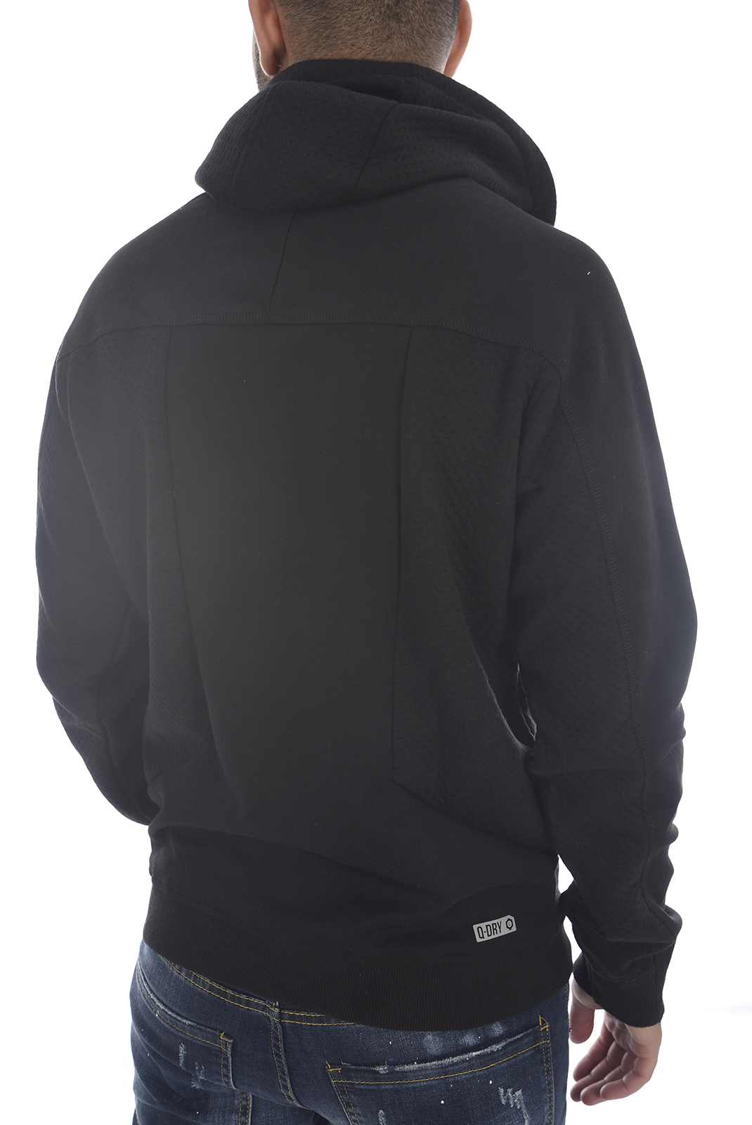 Sweatshirts  Jack & Jones BOCK SWEAT HOOD Black