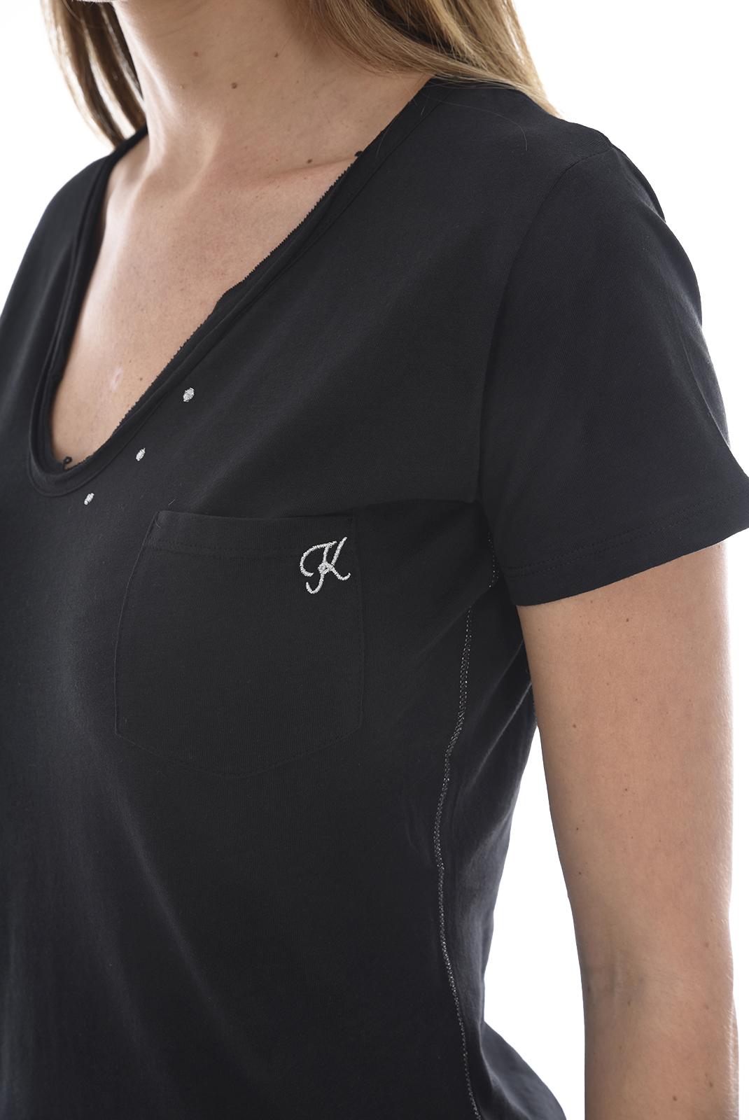 Tee shirt  Kaporal TECIL H18W11 BLACK