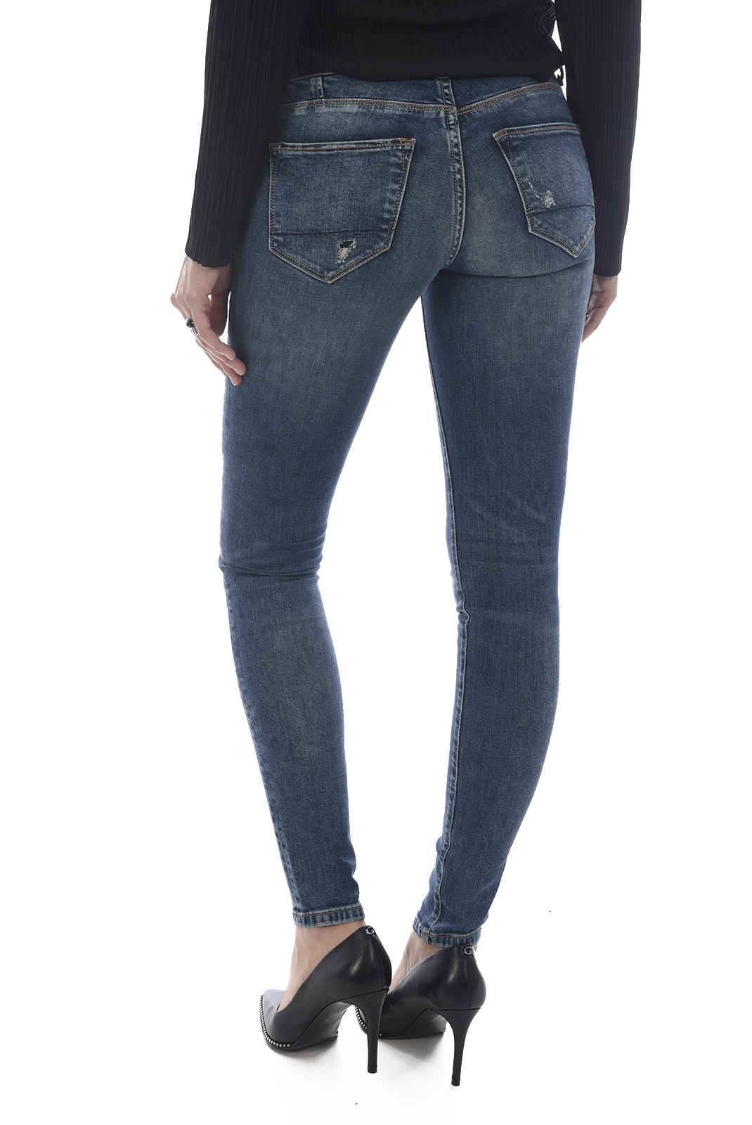 Jeans   Only SINTIA LOW SK DNM Medium blue
