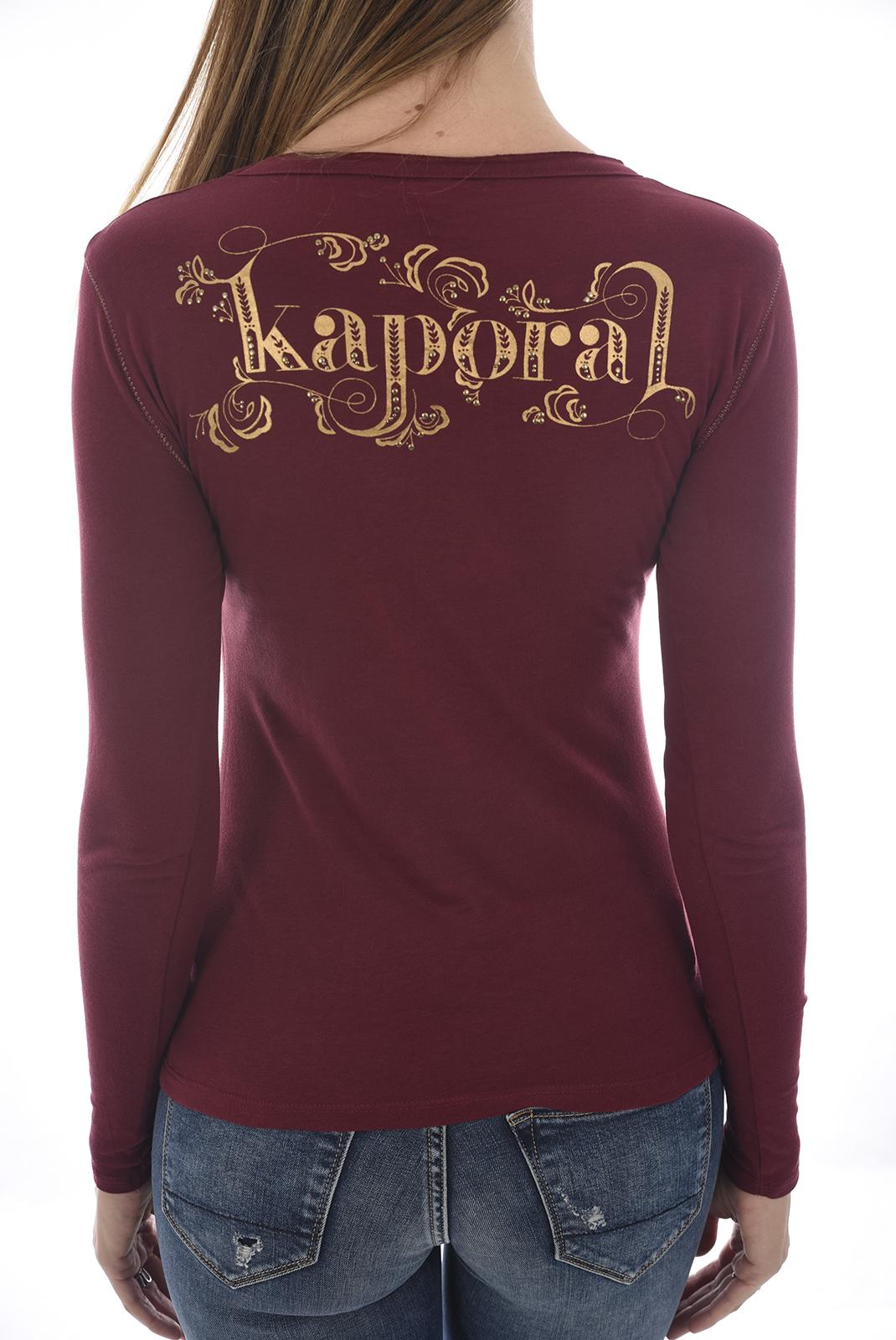 Tee shirt manches longues  Kaporal TANIO H18W12 RAISIN