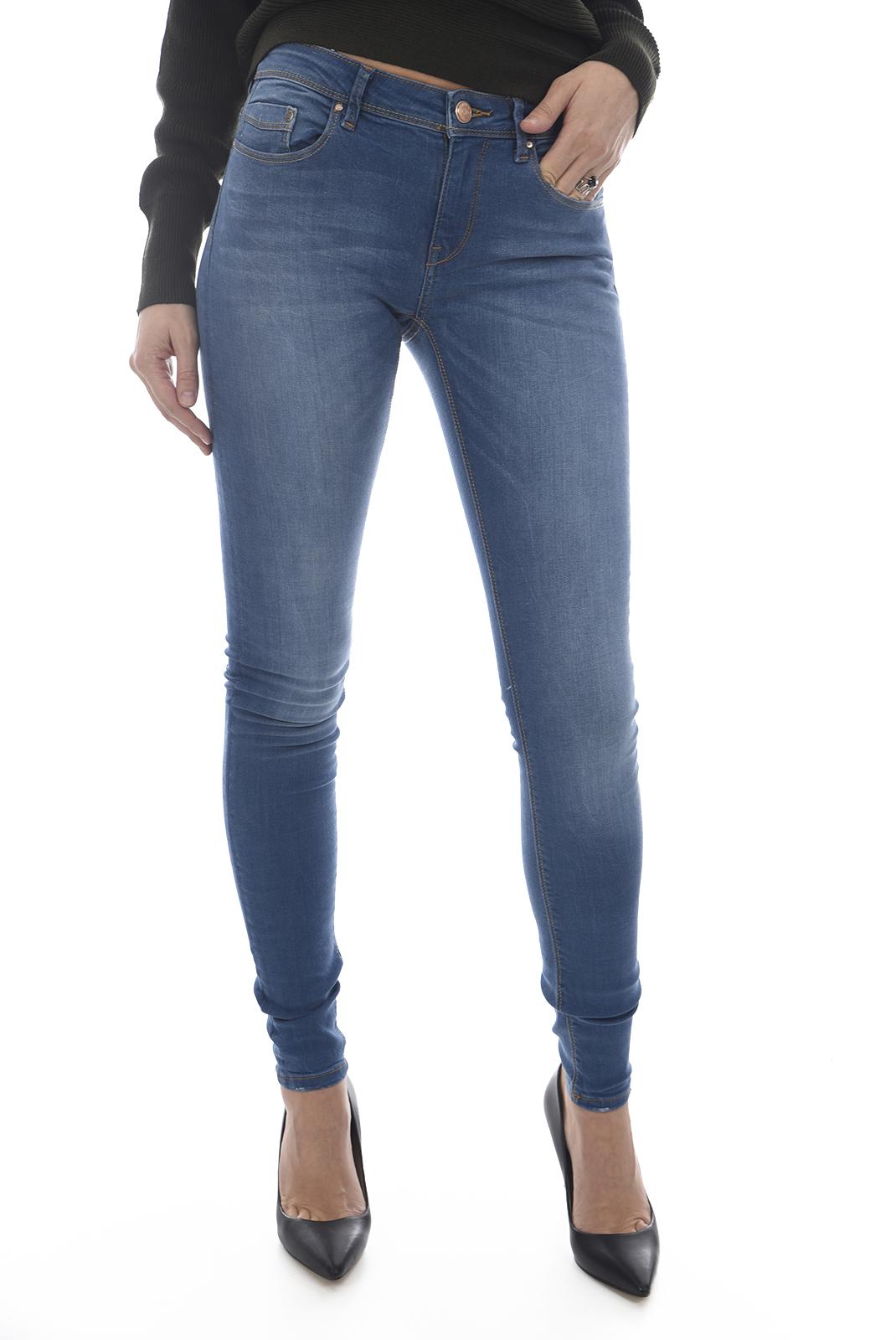 Jeans   Only CARMEN REG SK DNM 1743G MED BLUE