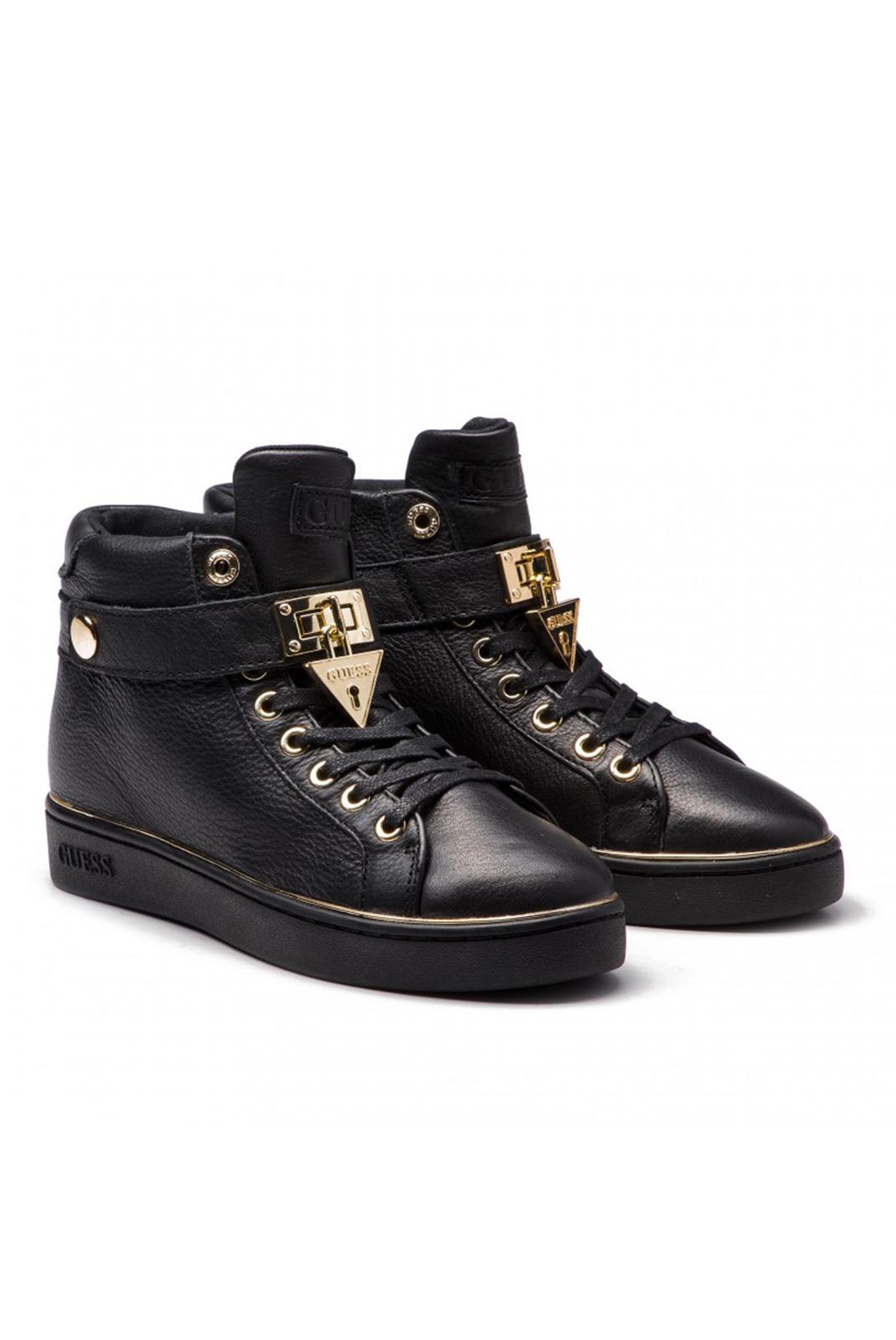Baskets / Sneakers  Guess jeans FLBOG4 LEA12 BLACK