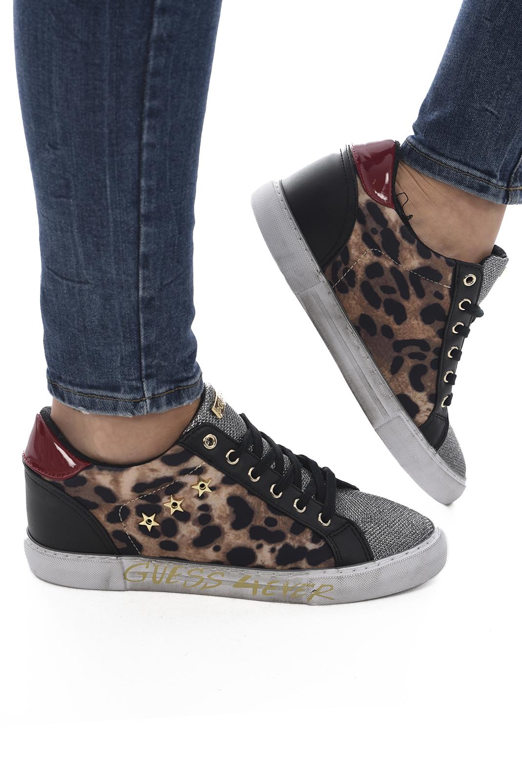 Baskets / Sneakers  Guess jeans FLPRE4 FAP12 LEOPA