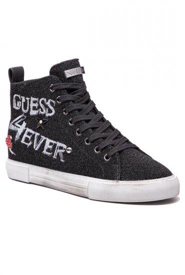 Sneakers Black Baskets Femme Guess Fam12 Jeans Flpye4 xBEQdeoCrW