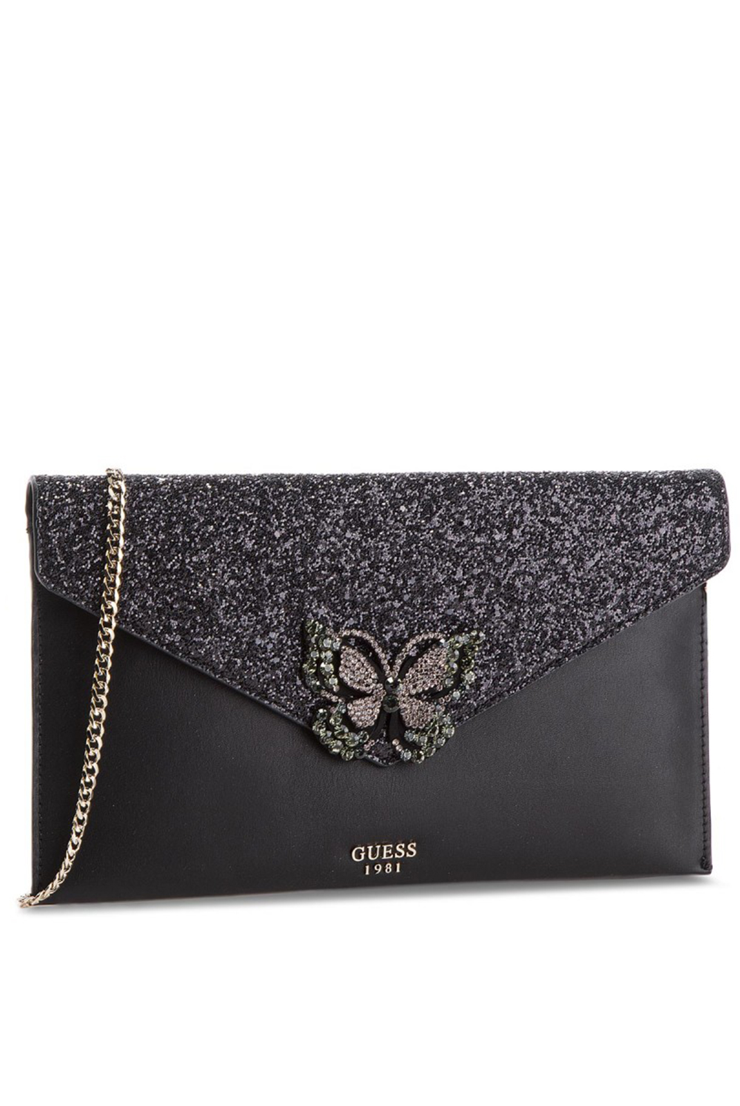 Pochettes  Guess jeans HWGB71 11280 STARRY NIGHT MINI BLACK