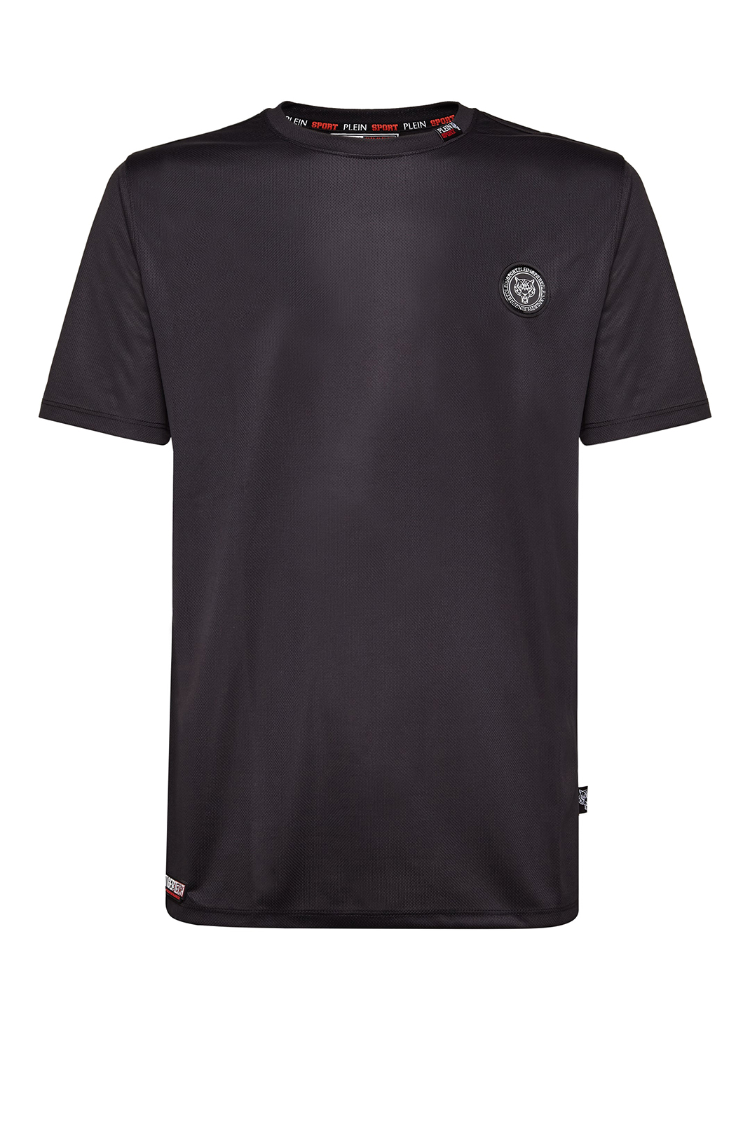 Tee-shirts  Plein Sport MTK2108 LUKA 02 BLACK