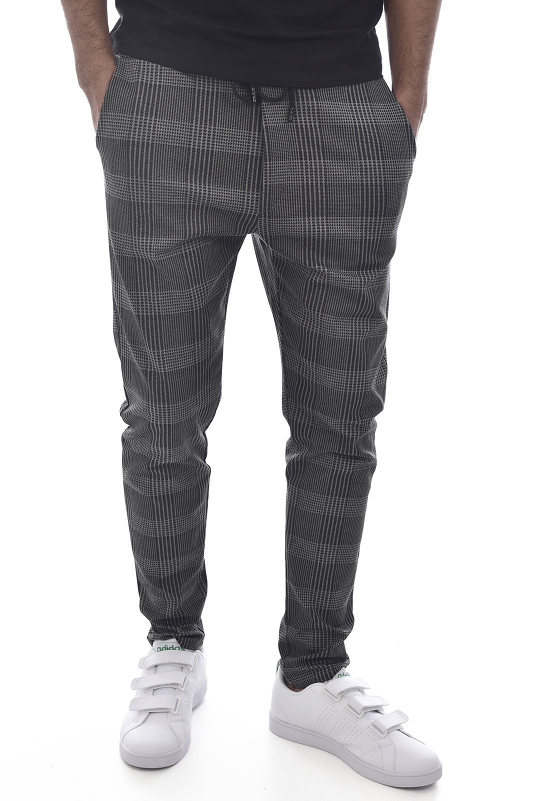 Pantalons sport/streetwear  Made in Italy TM0005.12 GRIS RAYE