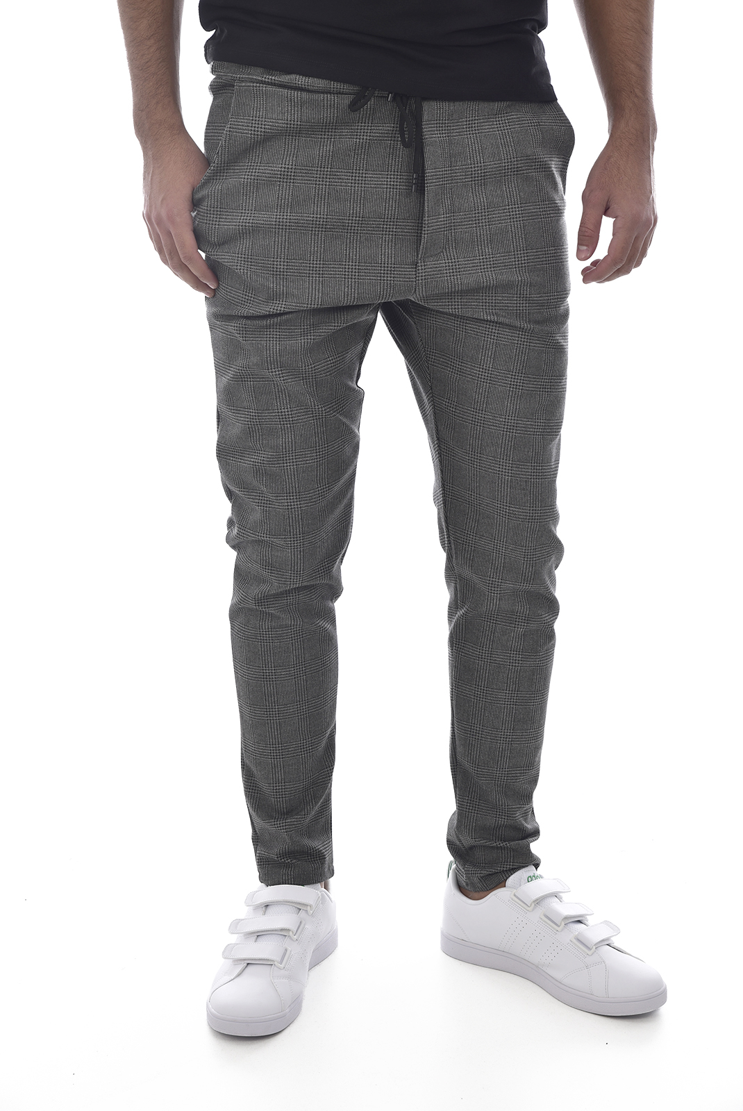 Pantalons sport/streetwear  Made in Italy TM0007.12 GRIS RAYE