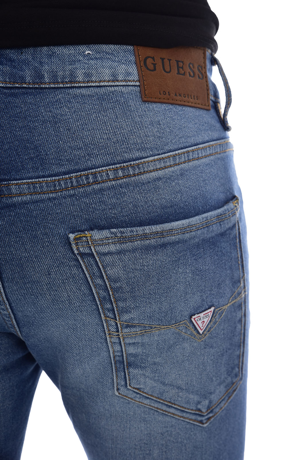 slim / skinny  Guess jeans M84AN1 D33H2 MIAMI BLADES