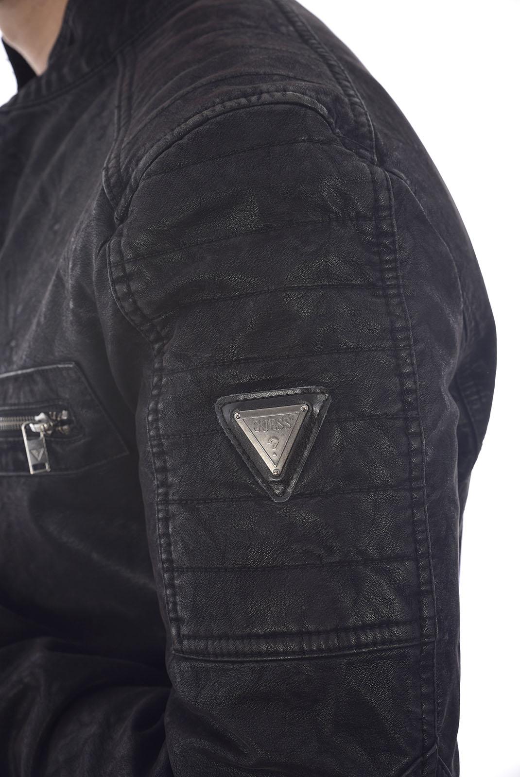 Blousons / doudounes  Guess jeans M84L20 WASO0 Jet Black A996