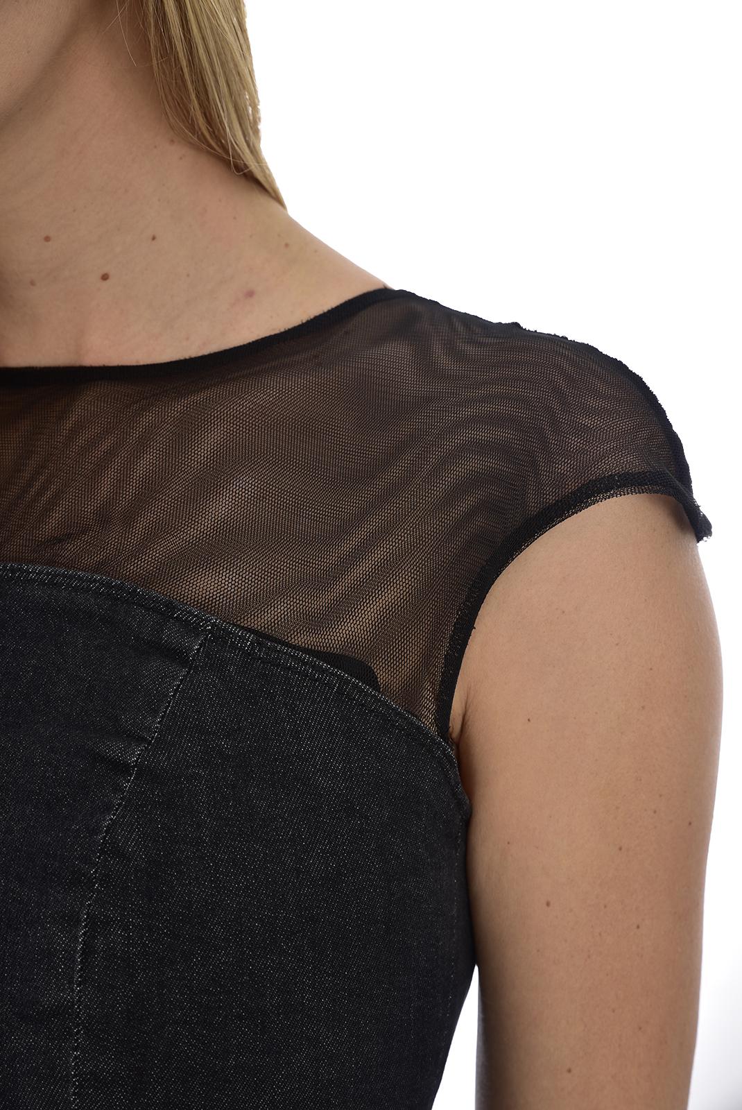 Femme  Guess jeans W84K21 D38J1 MESH UP WASH