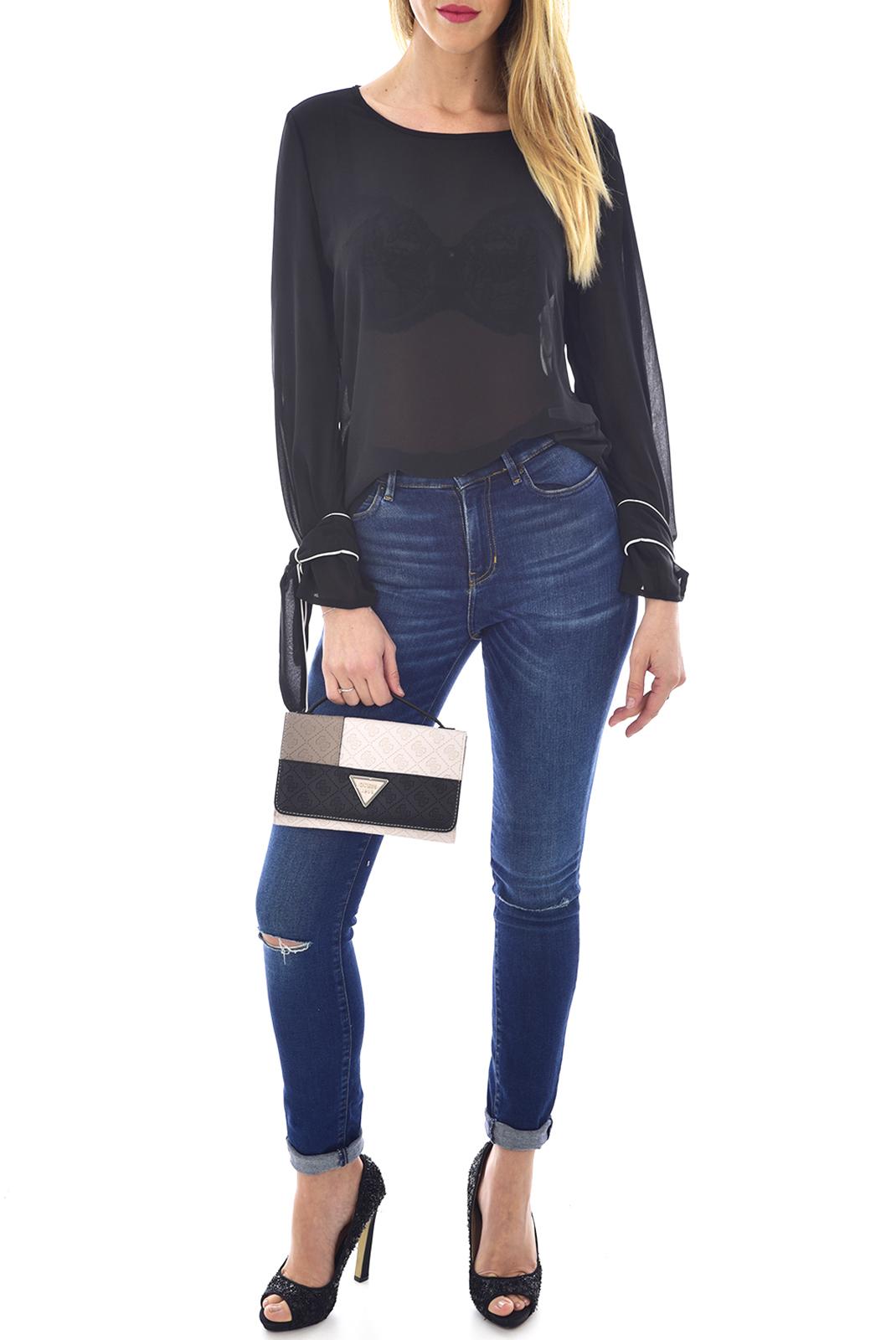 Pochettes  Guess jeans HWCV66 91790 BLACK MULTI