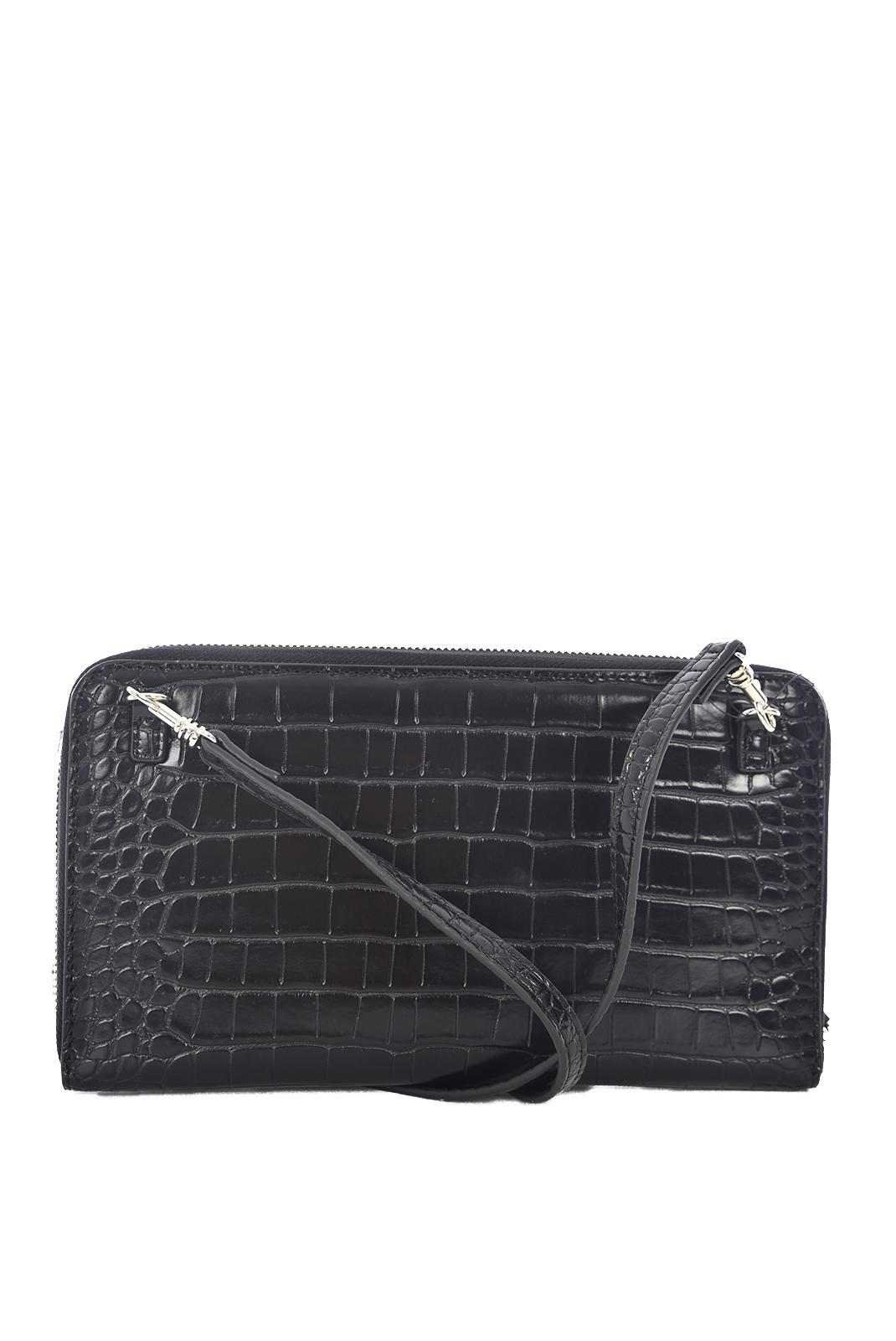 Portefeuilles / Porte-monnaie  Guess jeans SWCG66 91540 KAMRYN SLG BLACK