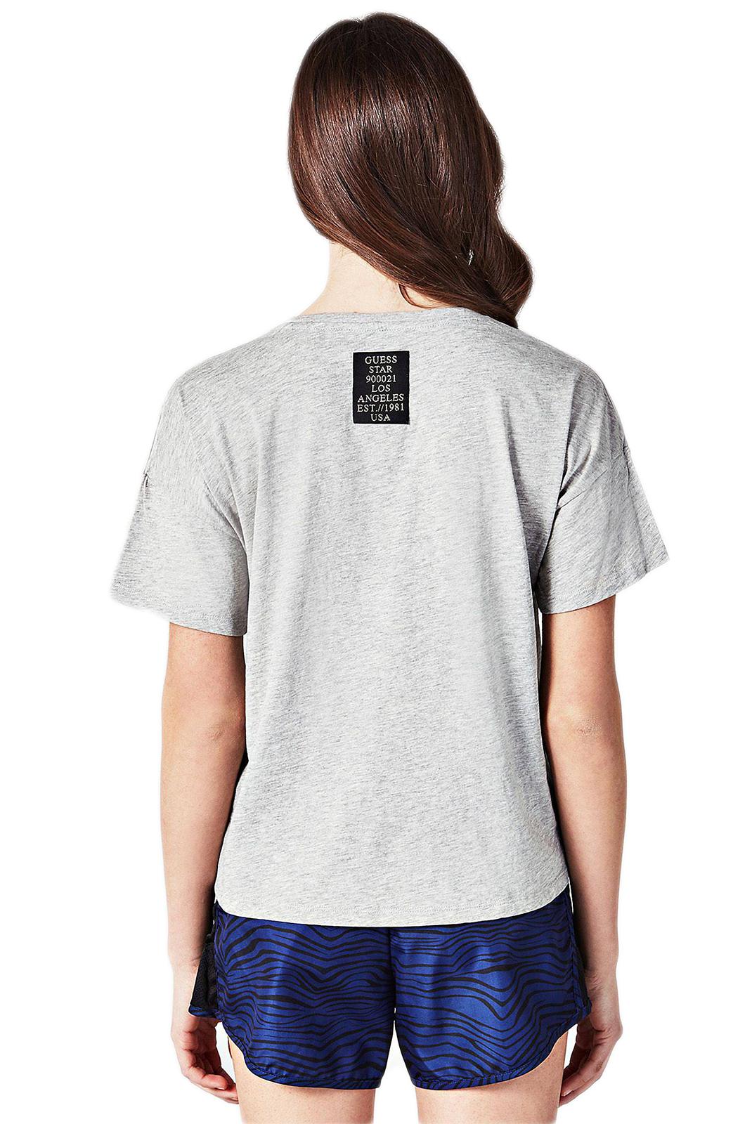 Tee shirt  Guess jeans O84A36 I3Z00 M90 Light Heather Grey
