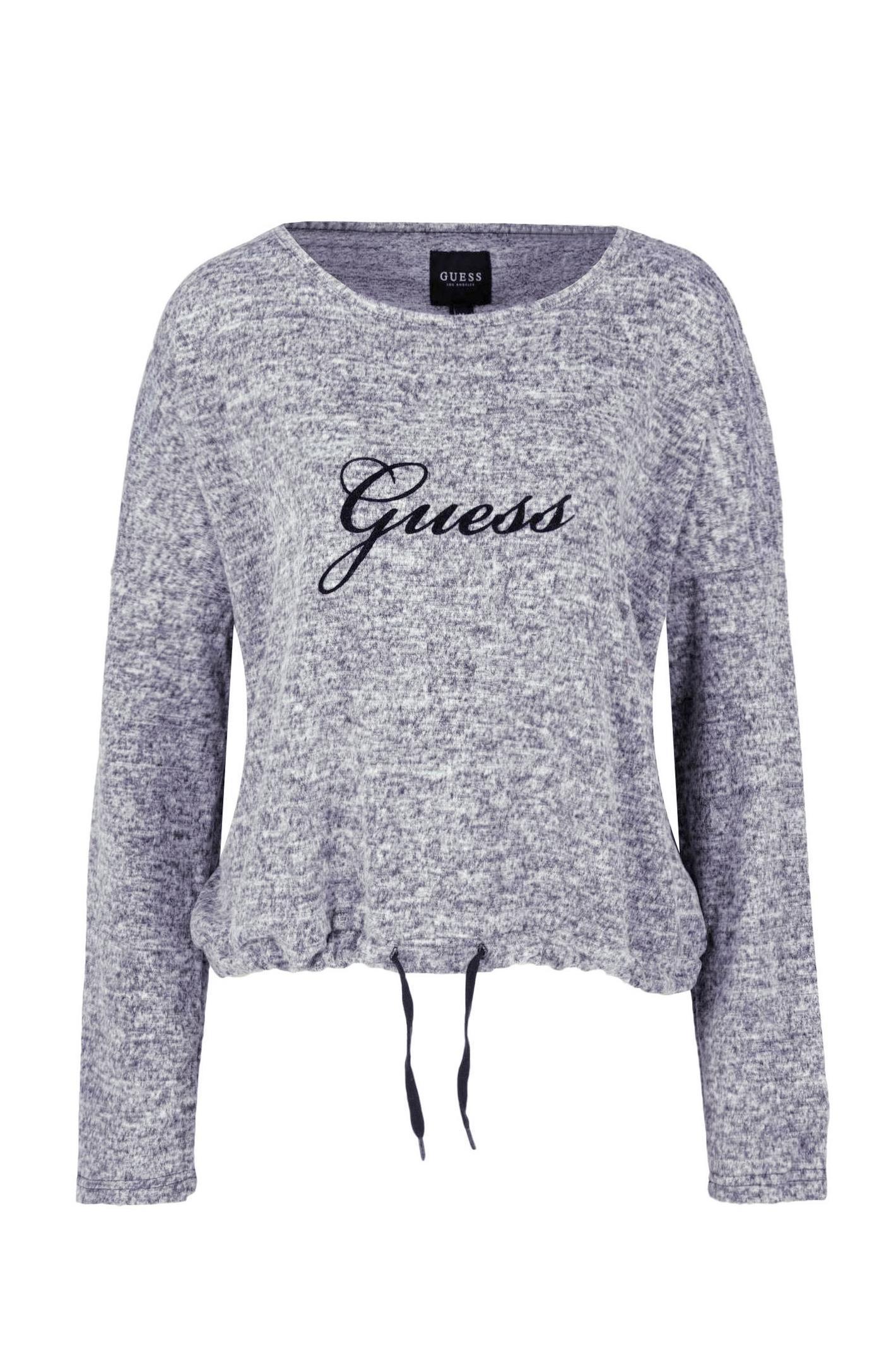 Pull  Guess jeans O84Q16 VI00E M18 GRANITE HEATHER
